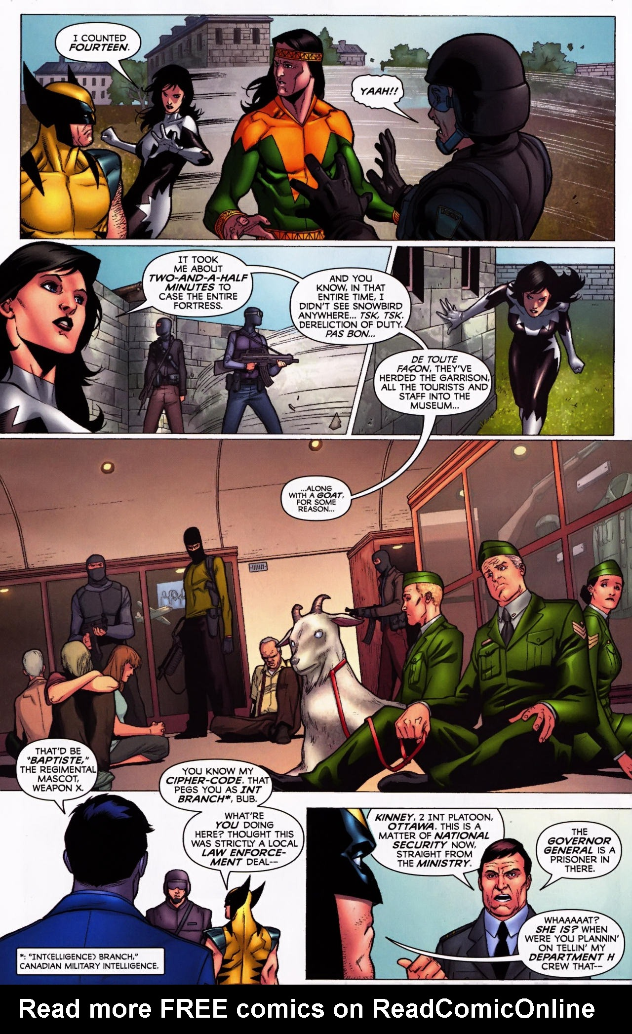 Read online Wolverine: First Class comic -  Issue #5 - 8