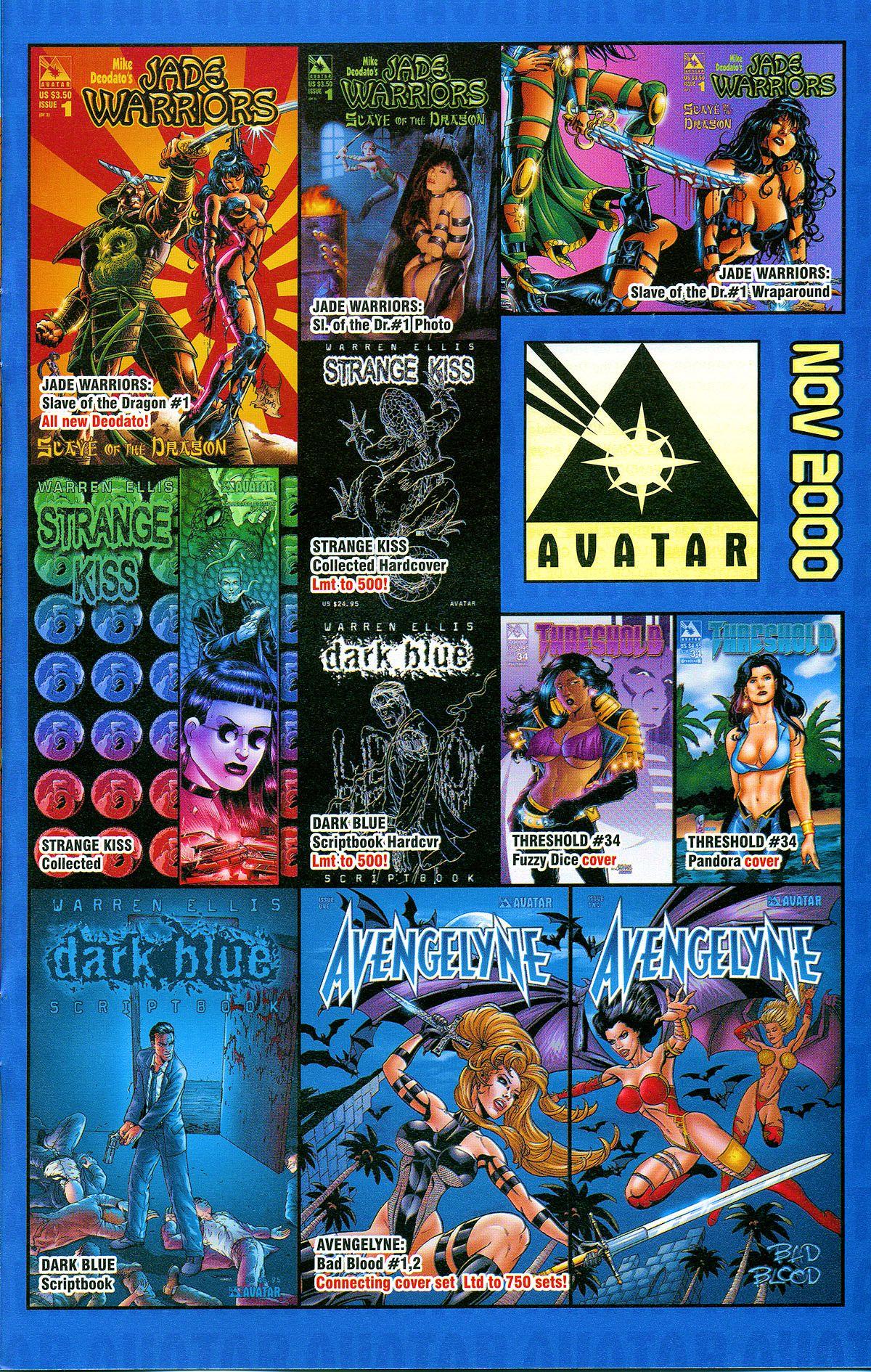Read online Avengelyne: Bad Blood comic -  Issue #2 - 28