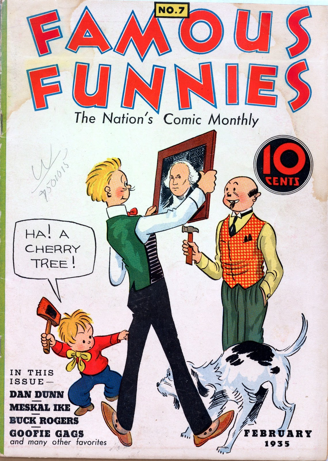 Read online Famous Funnies comic -  Issue #7 - 1