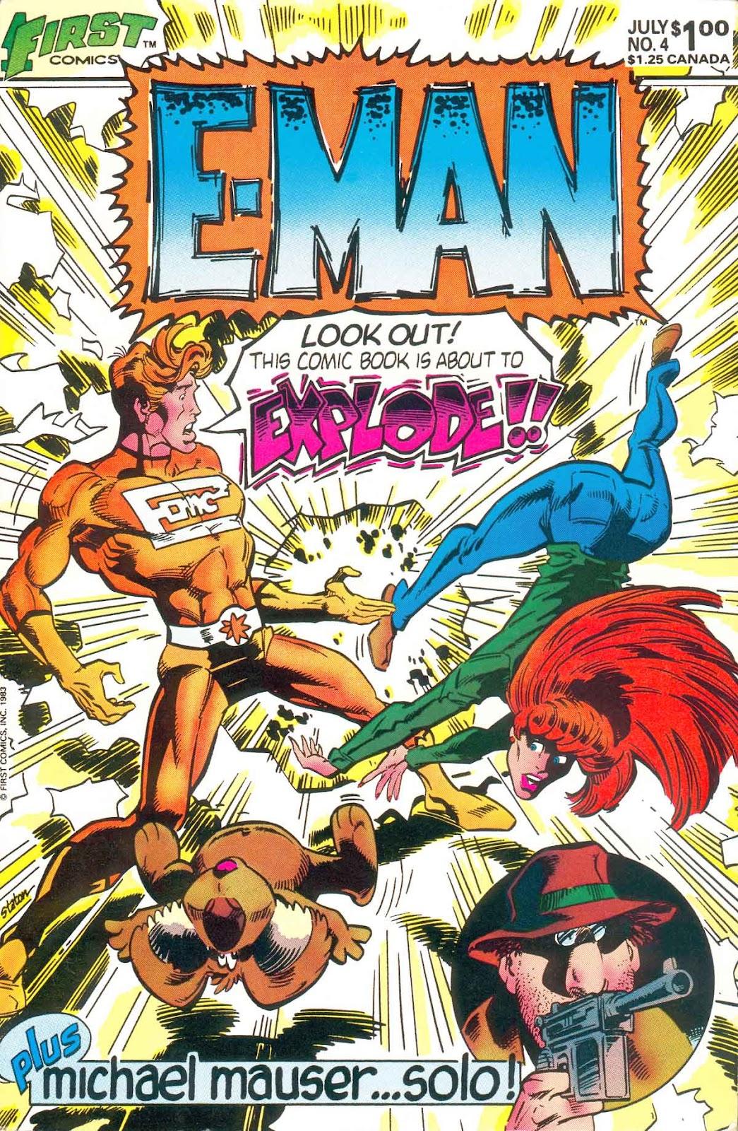 E-Man (1983) 4 Page 1