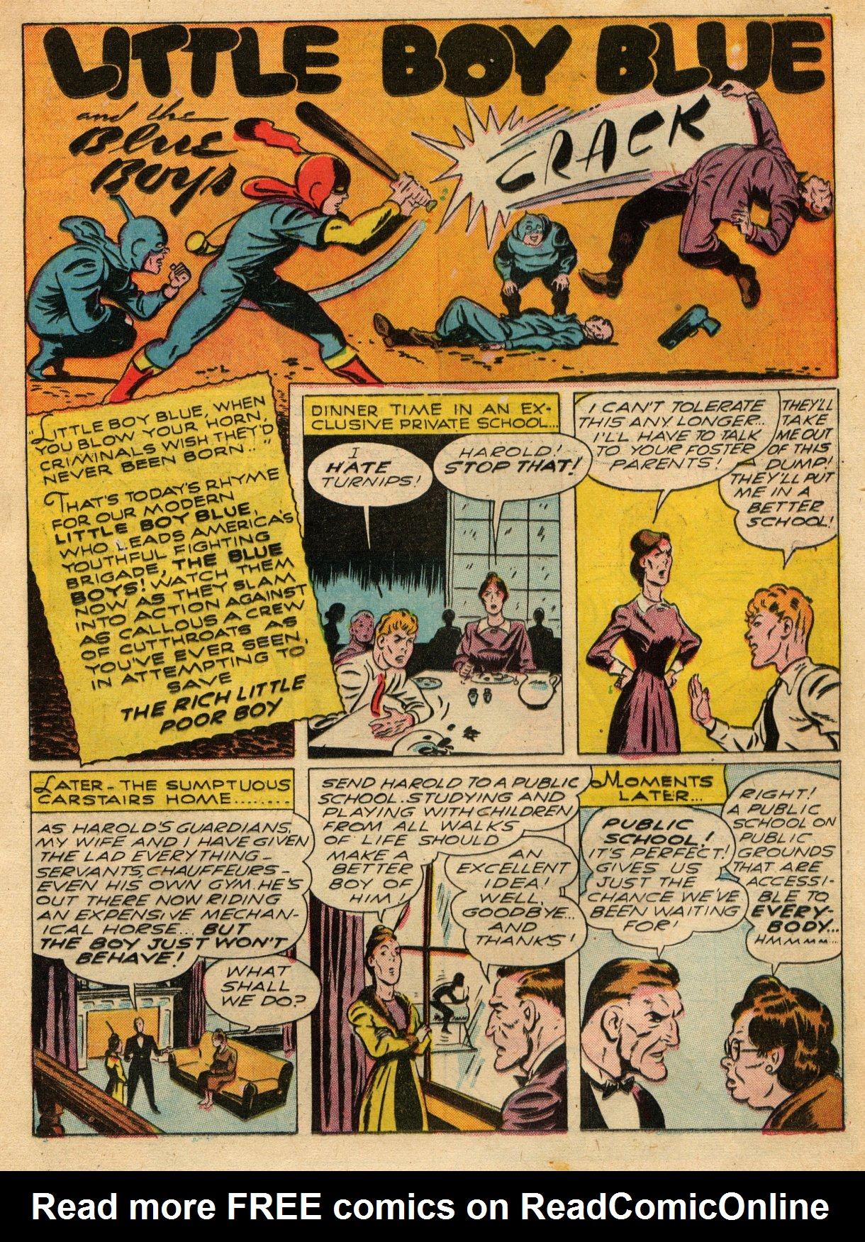 Read online Sensation (Mystery) Comics comic -  Issue #22 - 25
