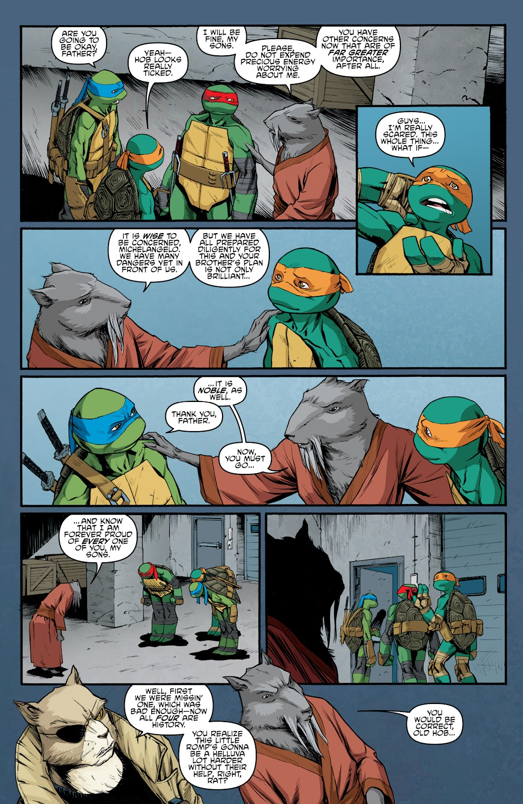 Read online Teenage Mutant Ninja Turtles: The IDW Collection comic -  Issue # TPB 5 (Part 3) - 89