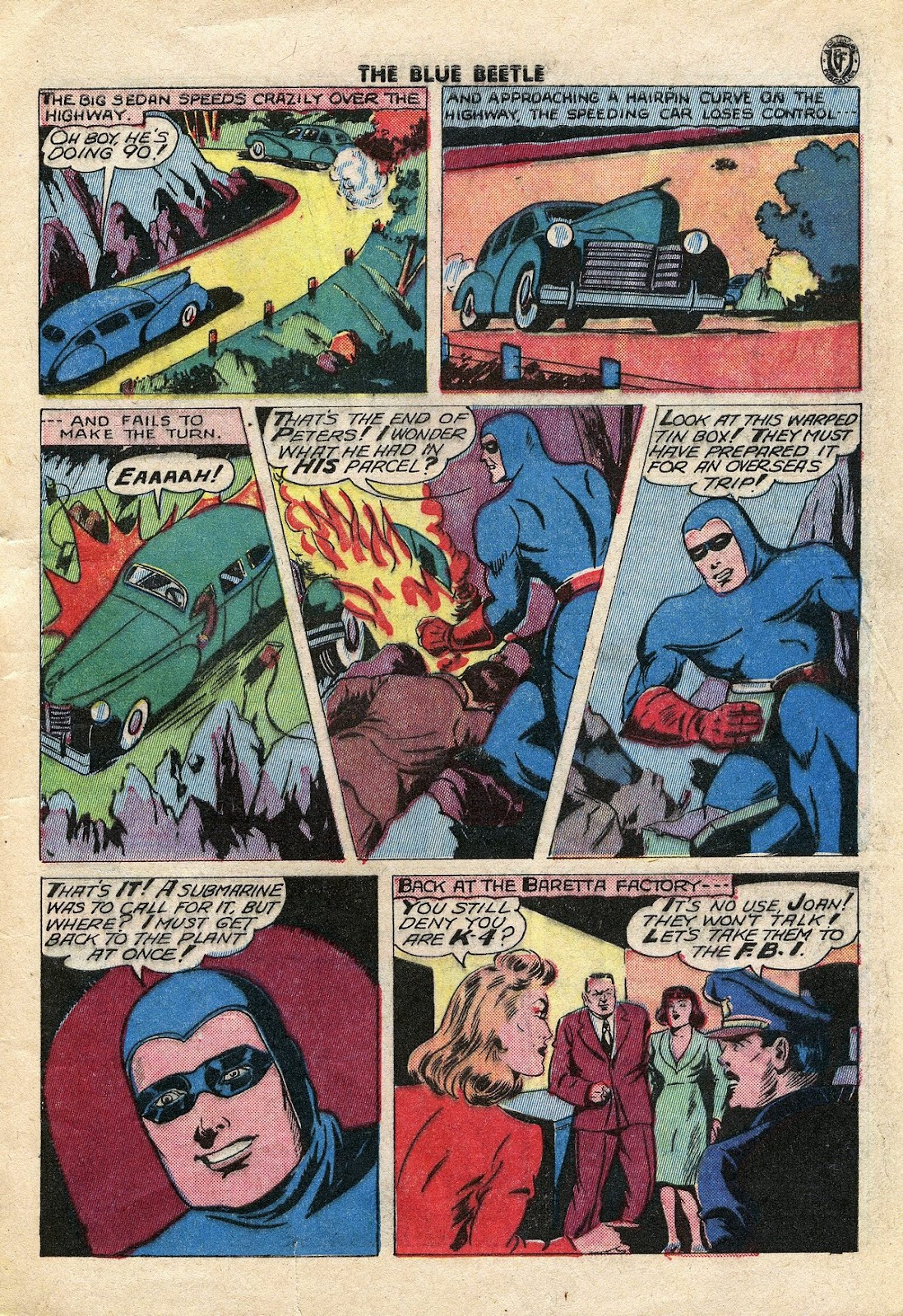 The Blue Beetle issue 34 - Page 8
