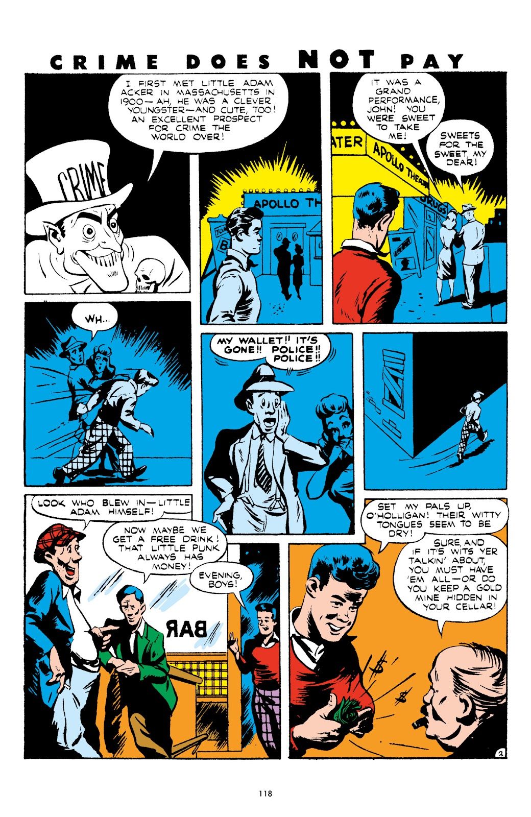 Read online Crime Does Not Pay Archives comic -  Issue # TPB 5 (Part 2) - 18