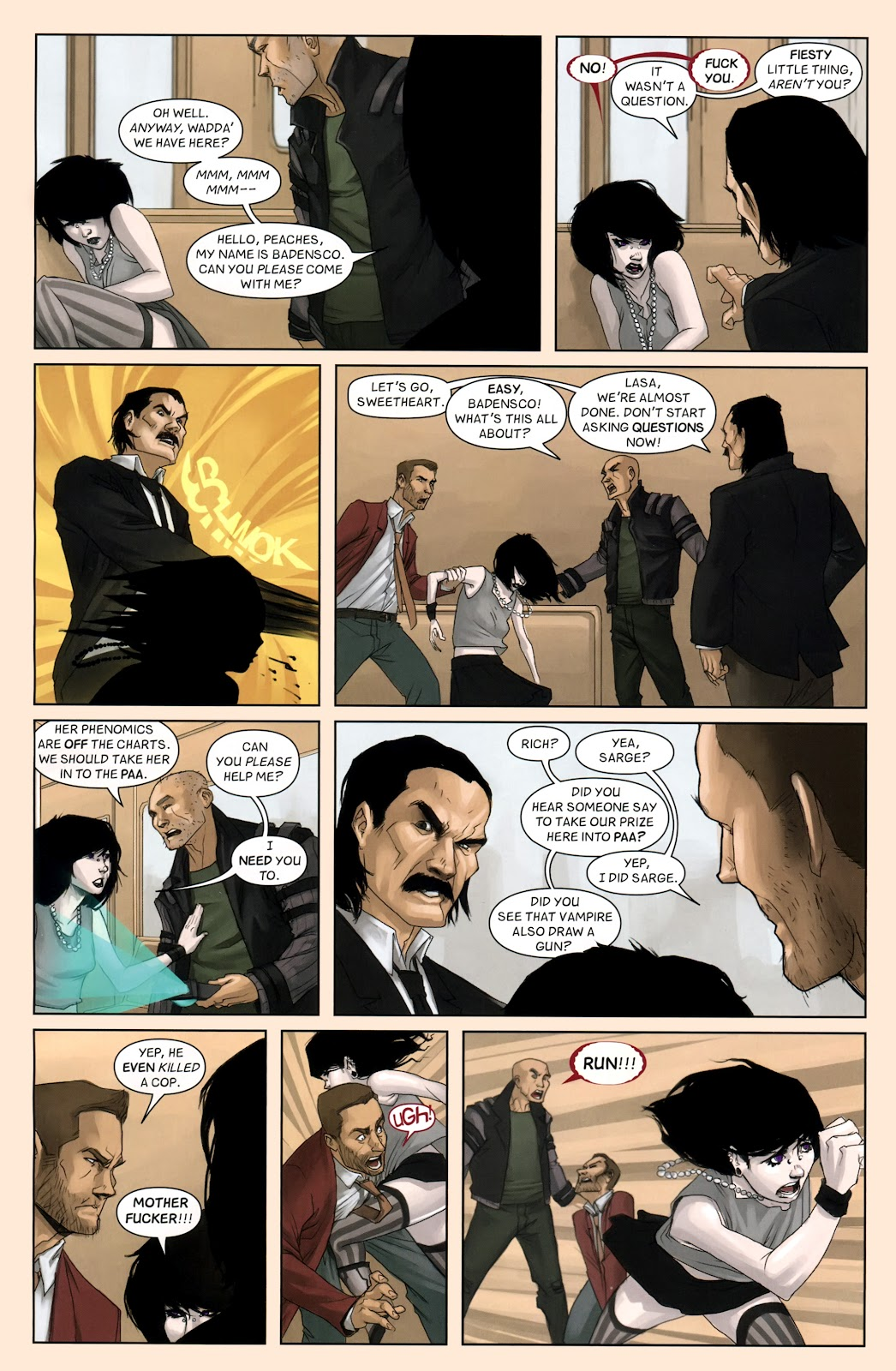 Read online Vescell comic -  Issue #7 - 8