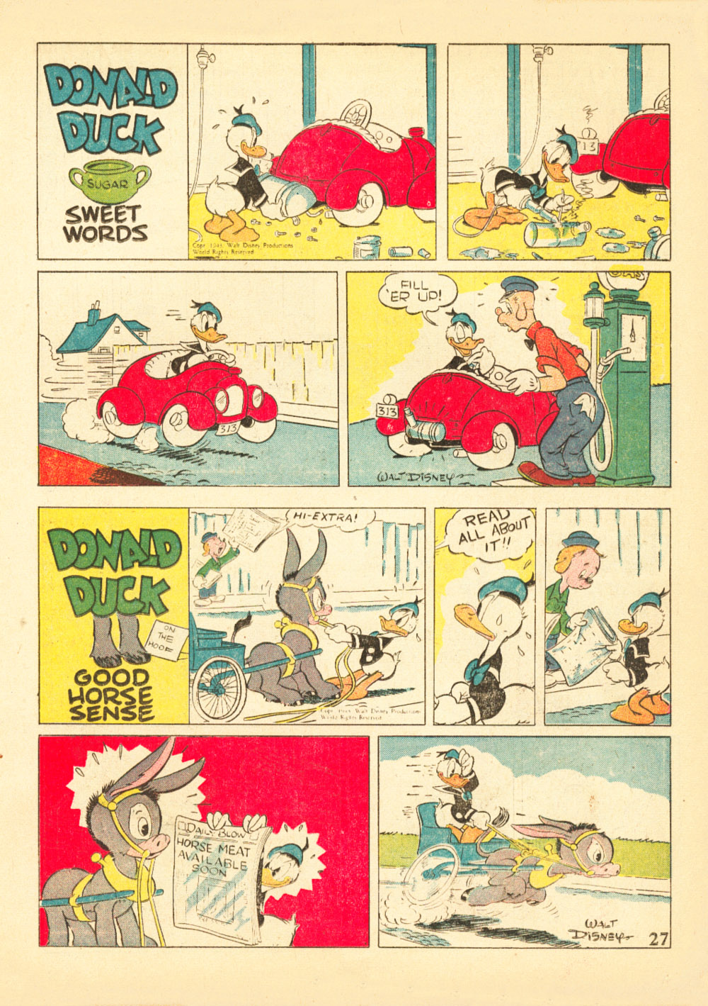 Walt Disney's Comics and Stories issue 38 - Page 29