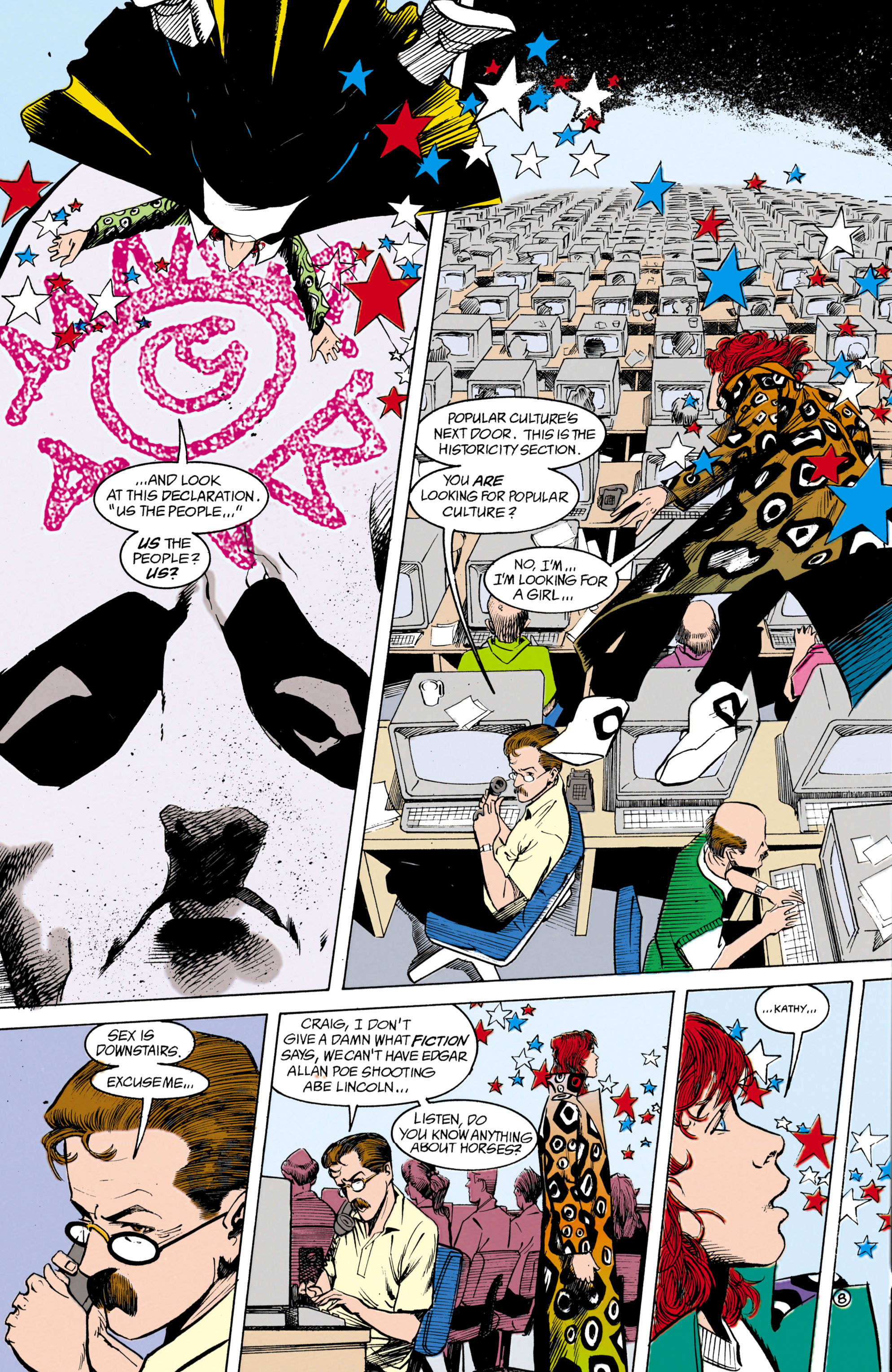 Read online Shade, the Changing Man comic -  Issue #18 - 8