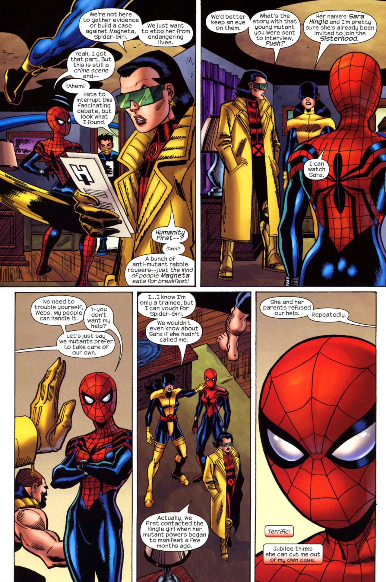 Read online Amazing Spider-Girl comic -  Issue #23 - 3