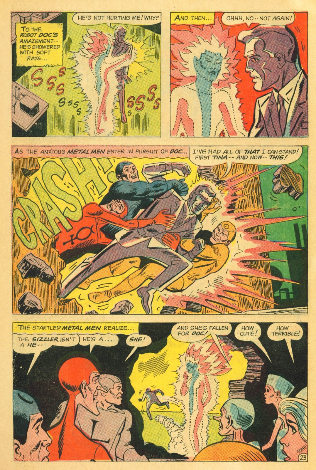 Metal Men (1963) issue 22 - Page 30