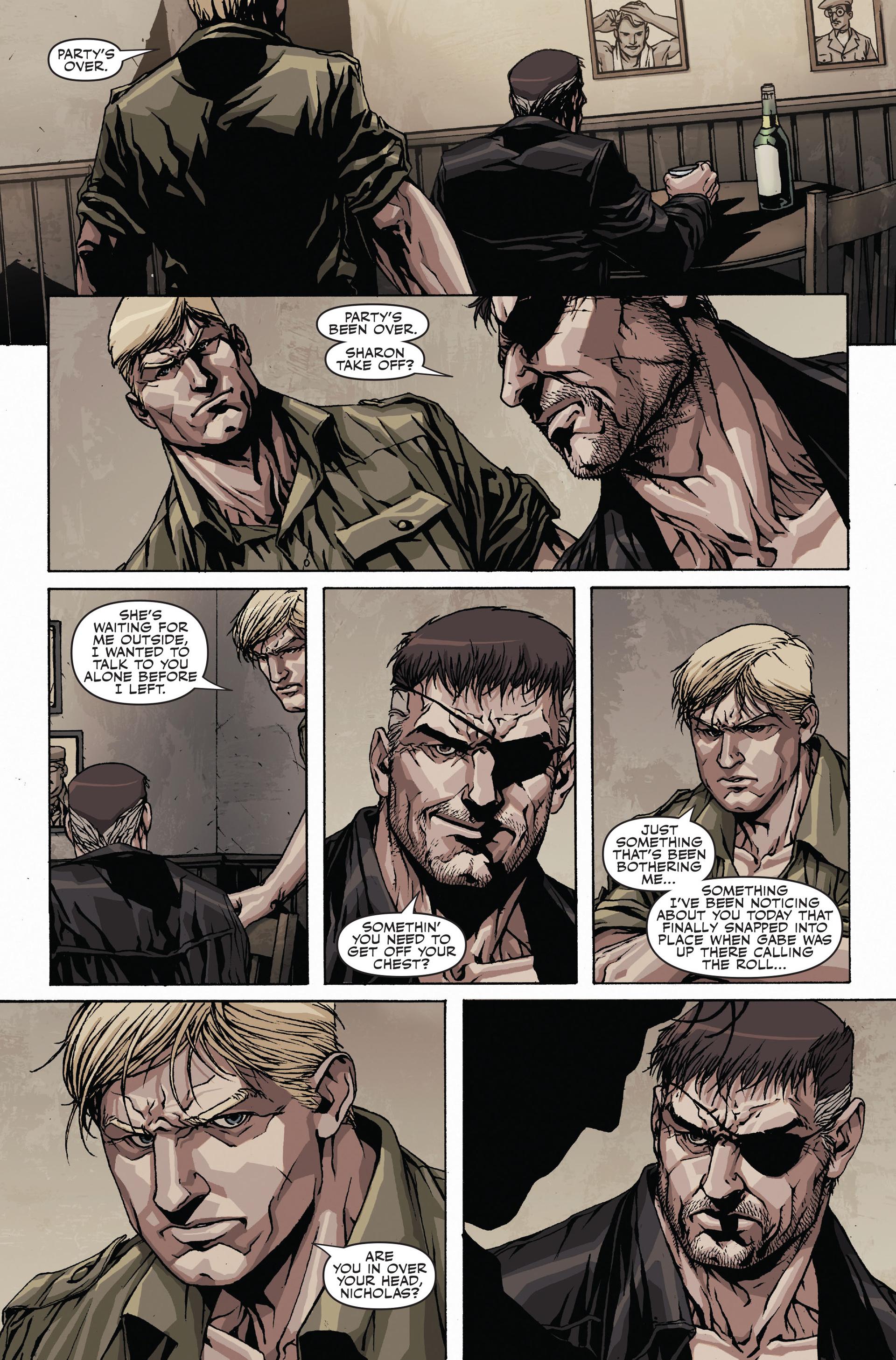 Read online Secret Warriors comic -  Issue #19 - 22