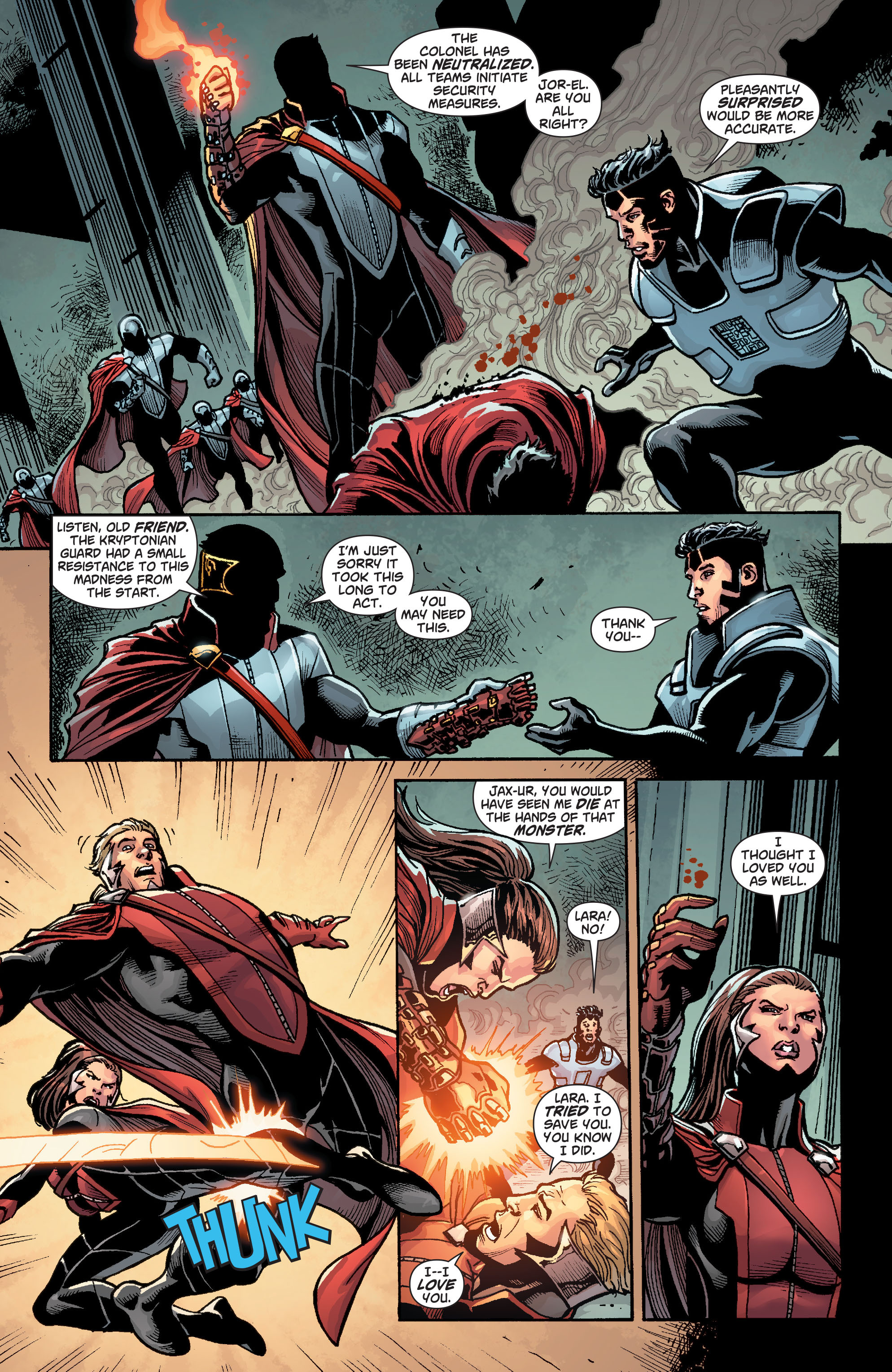Read online Action Comics (2011) comic -  Issue #23 - 22