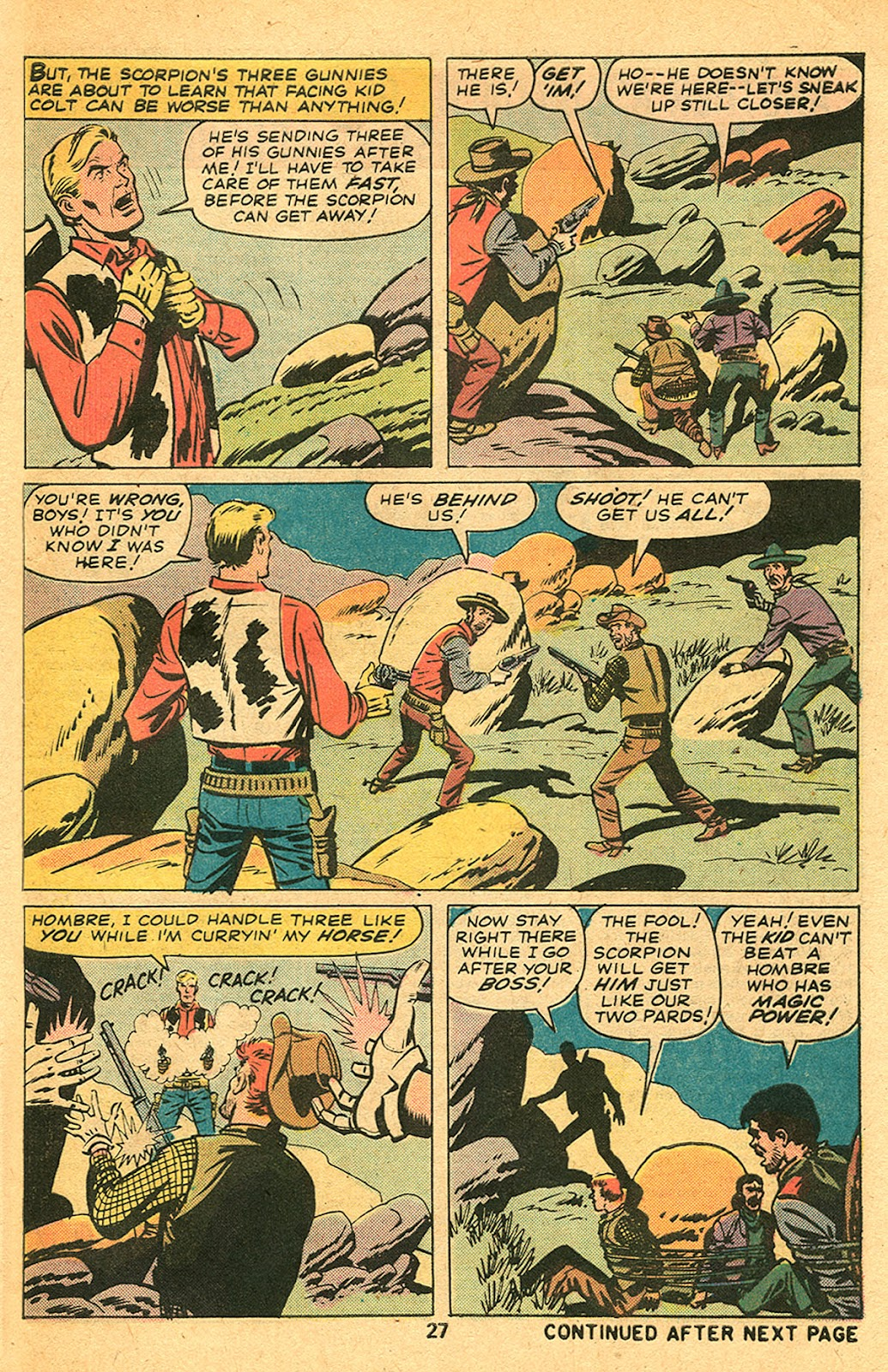 Kid Colt Outlaw issue 193 - Page 29
