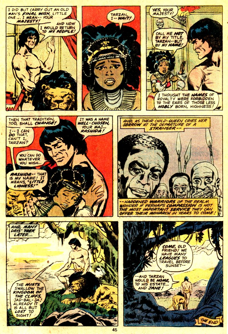 Read online Tarzan (1977) comic -  Issue # _Annual 2 - 35