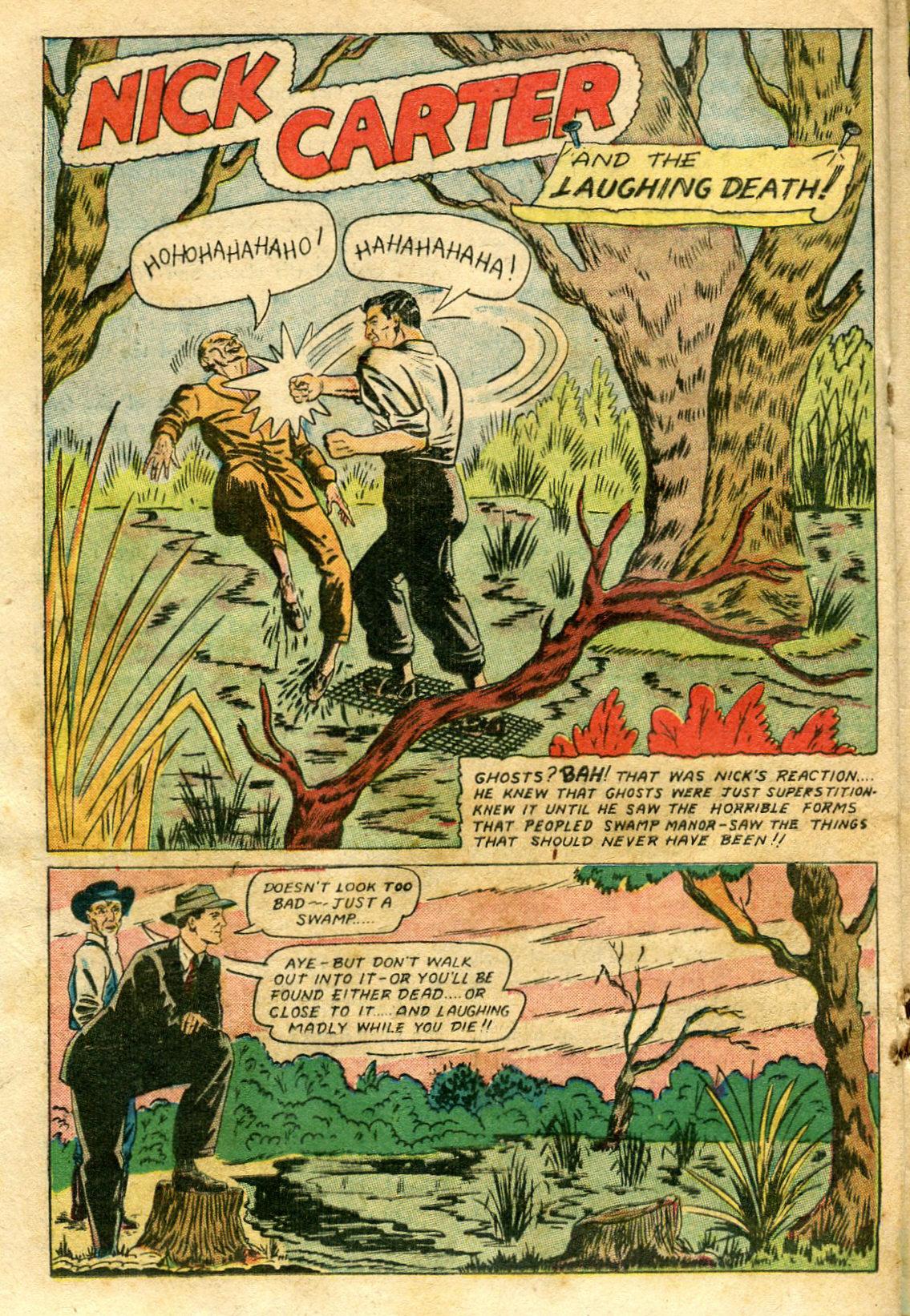 Read online Shadow Comics comic -  Issue #65 - 28