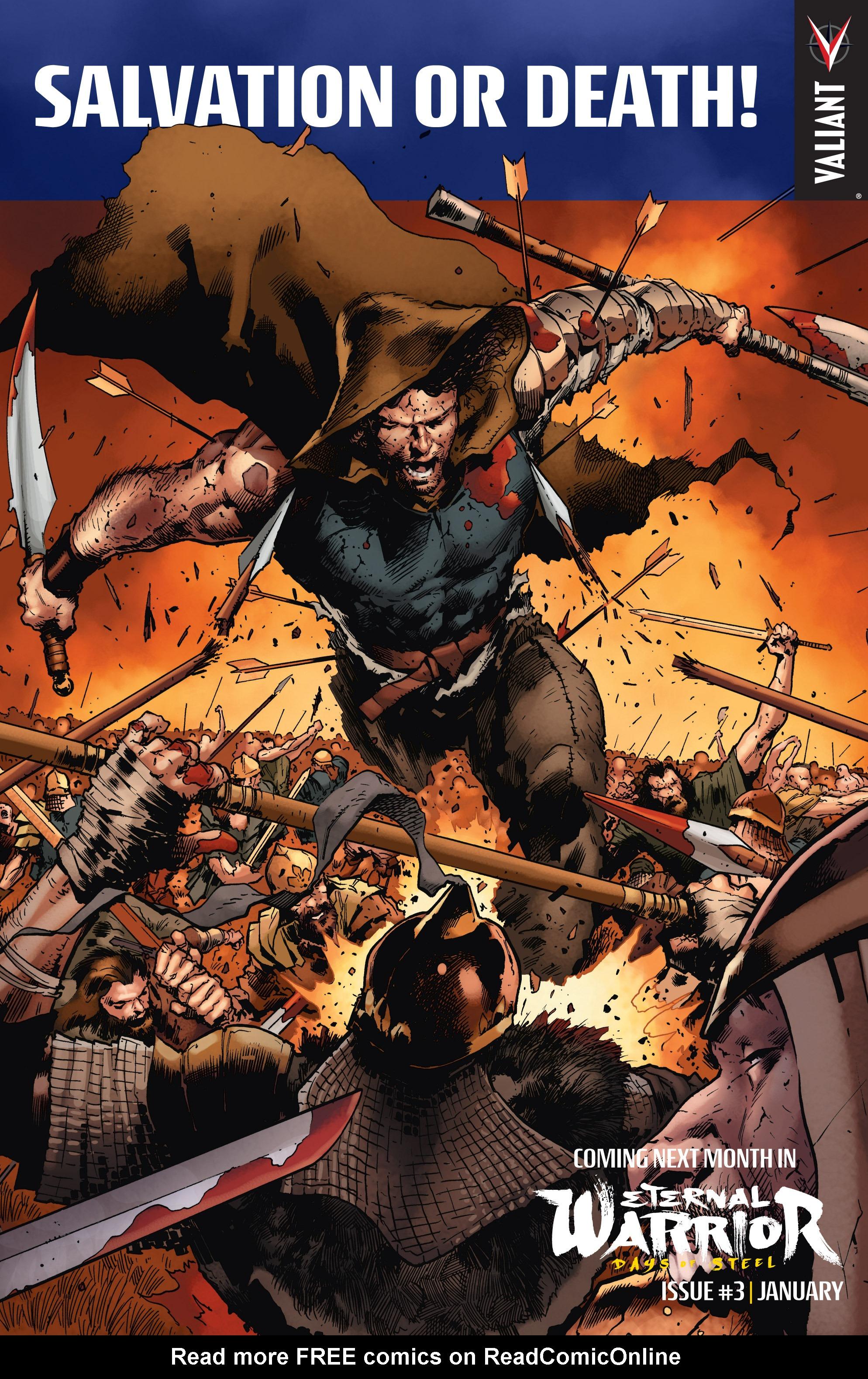 Read online Eternal Warrior: Days of Steel comic -  Issue #2 - 25