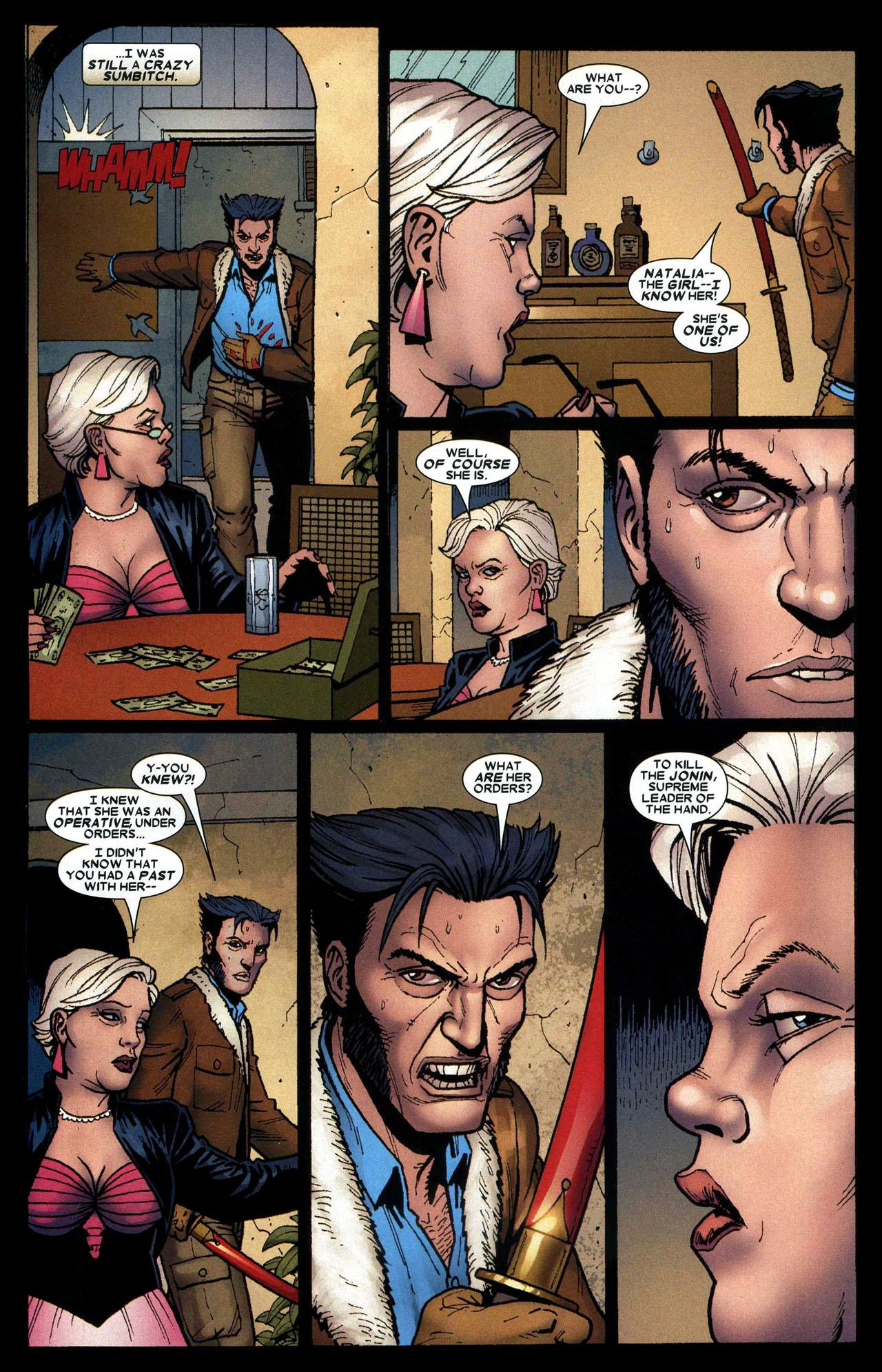 Read online Wolverine: Origins comic -  Issue #16 - 17