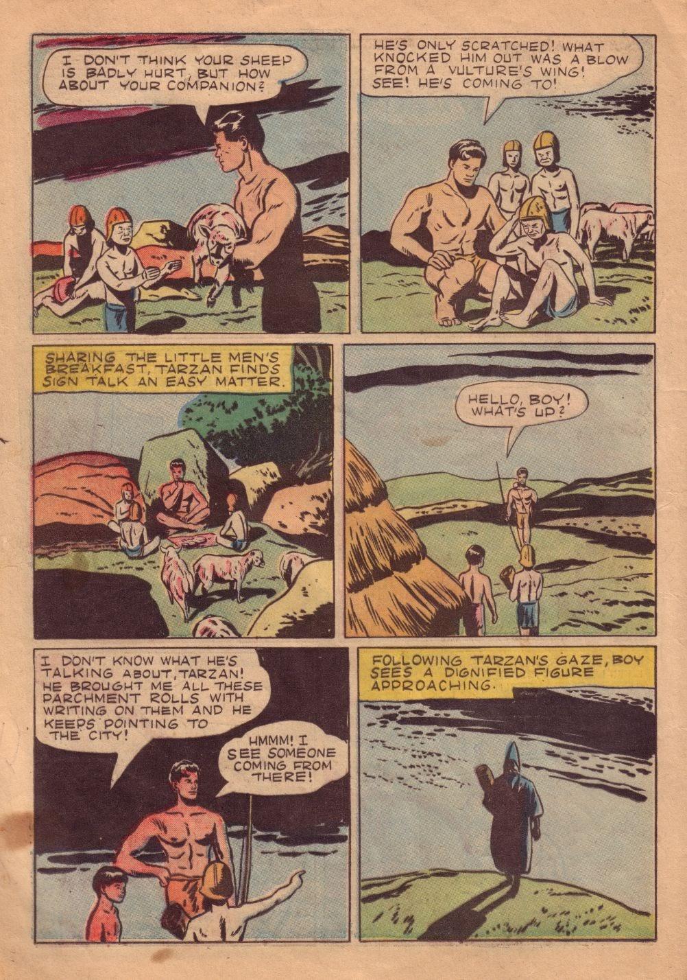 Tarzan (1948) issue 8 - Page 22