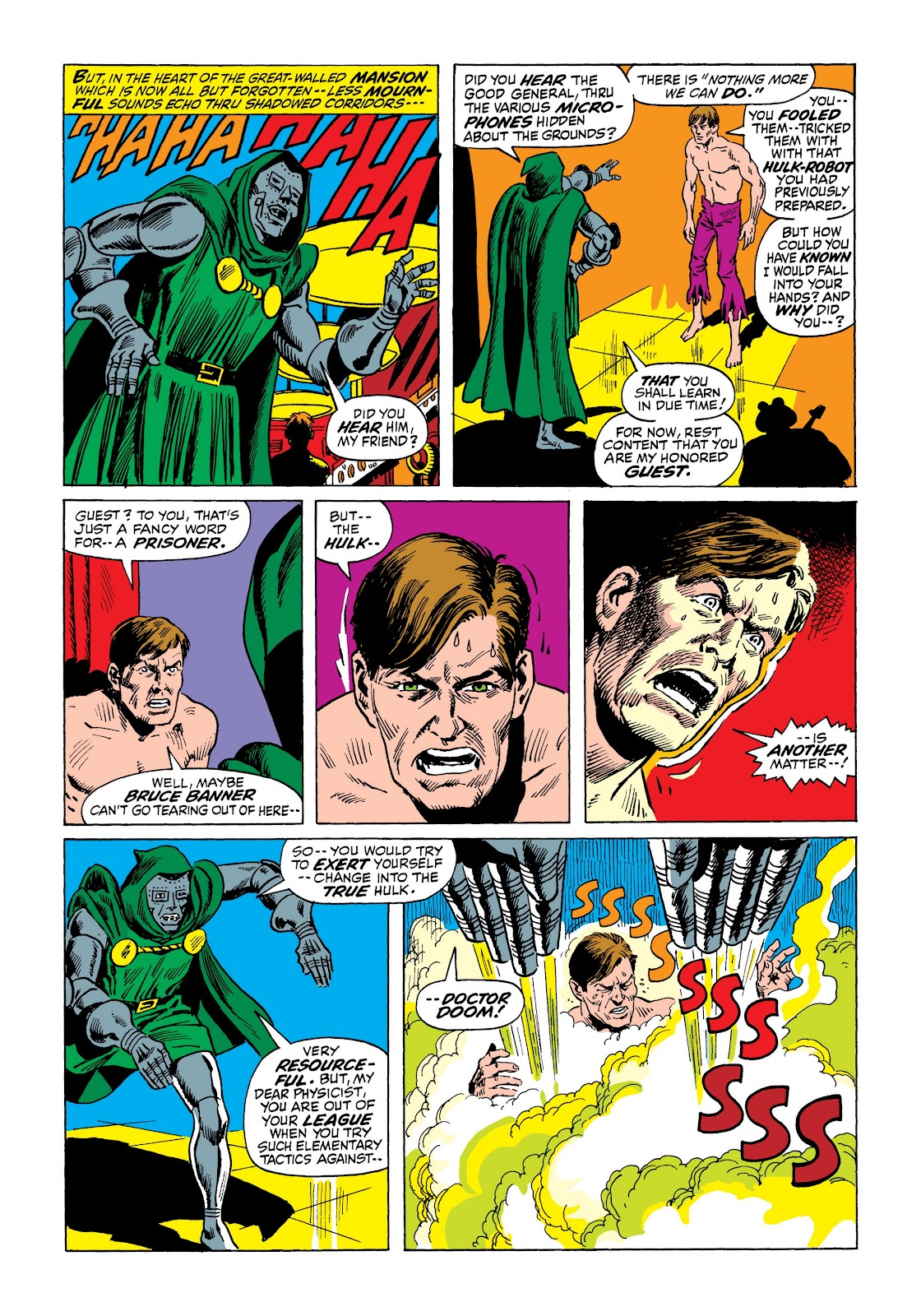 Read online Marvel Masterworks: The Incredible Hulk comic -  Issue # TPB 7 (Part 2) - 99