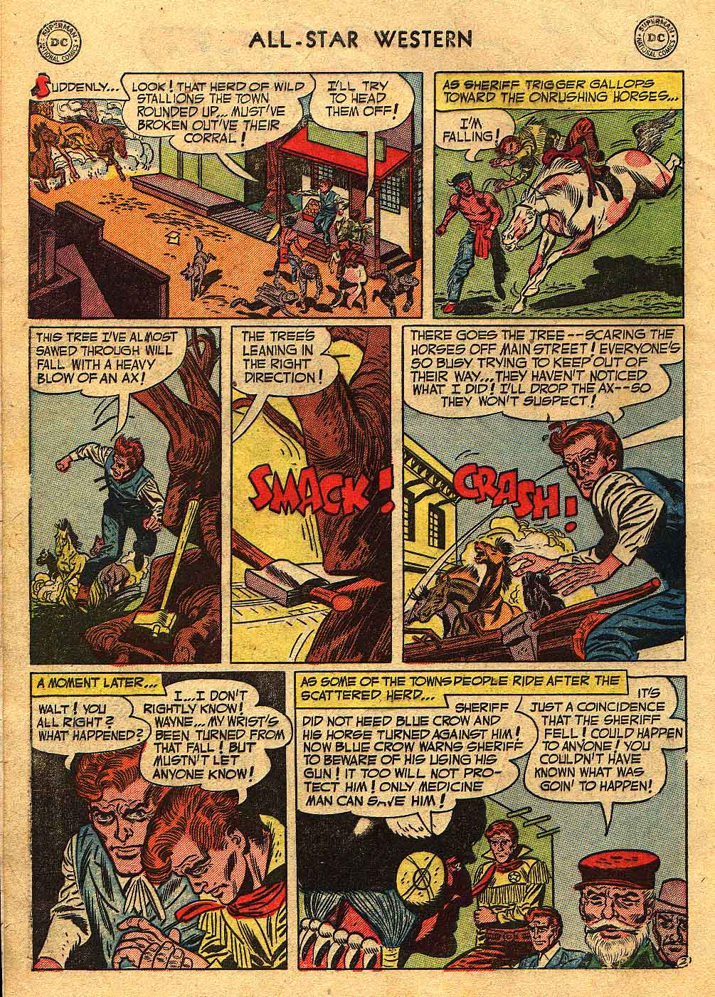 Read online All-Star Western (1951) comic -  Issue #70 - 4