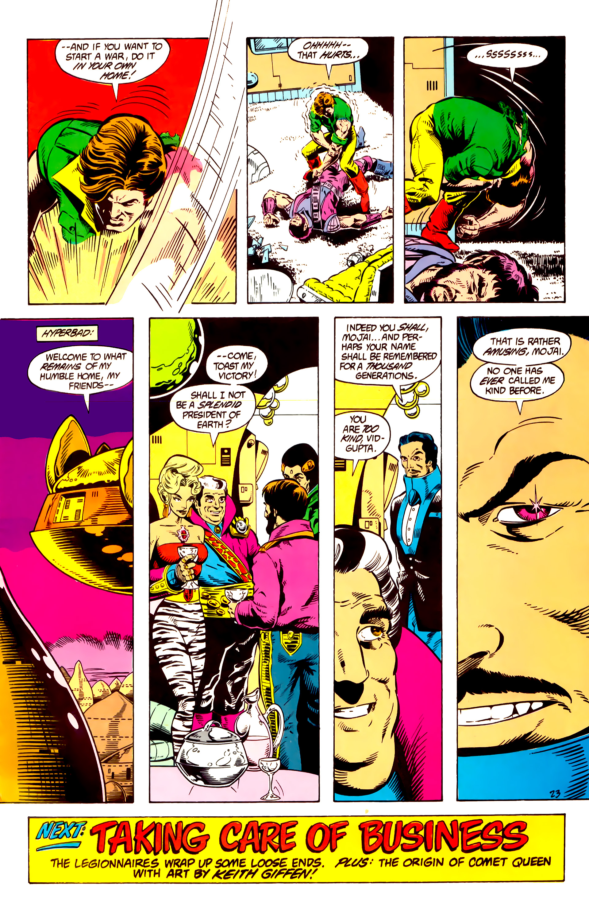 Legion of Super-Heroes (1984) 10 Page 24