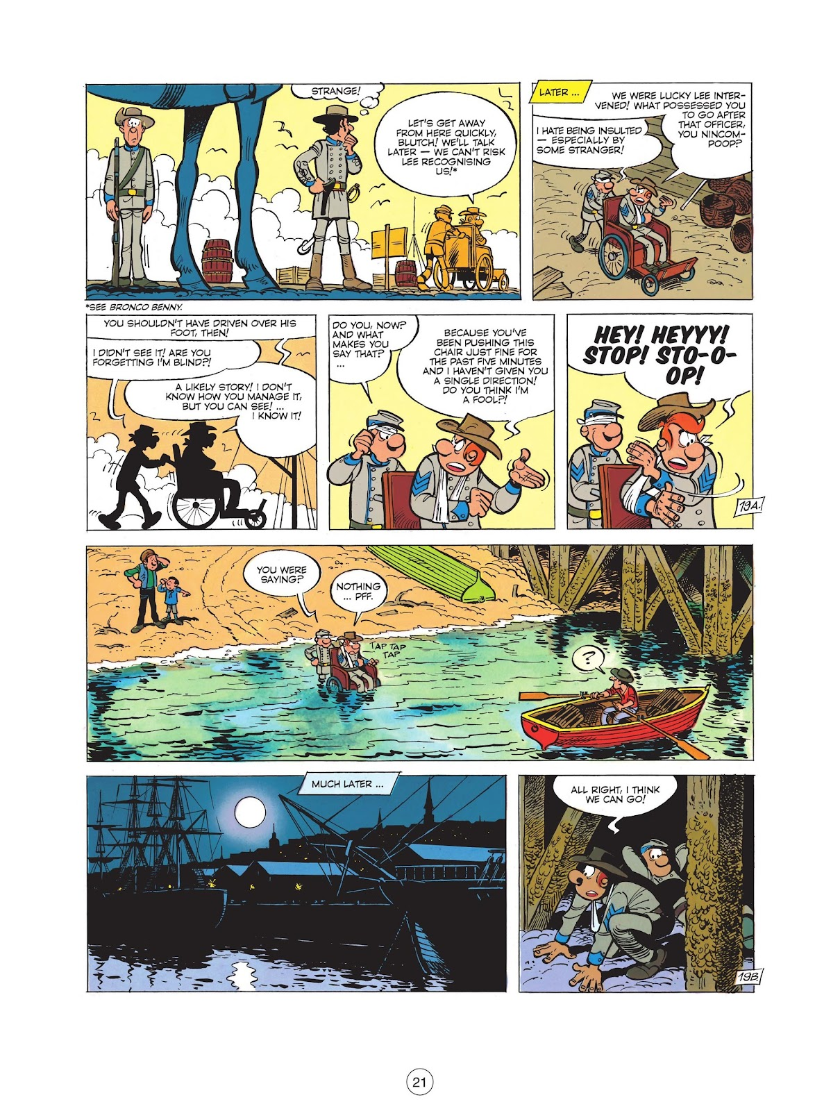 Read online The Bluecoats comic -  Issue #12 - 23