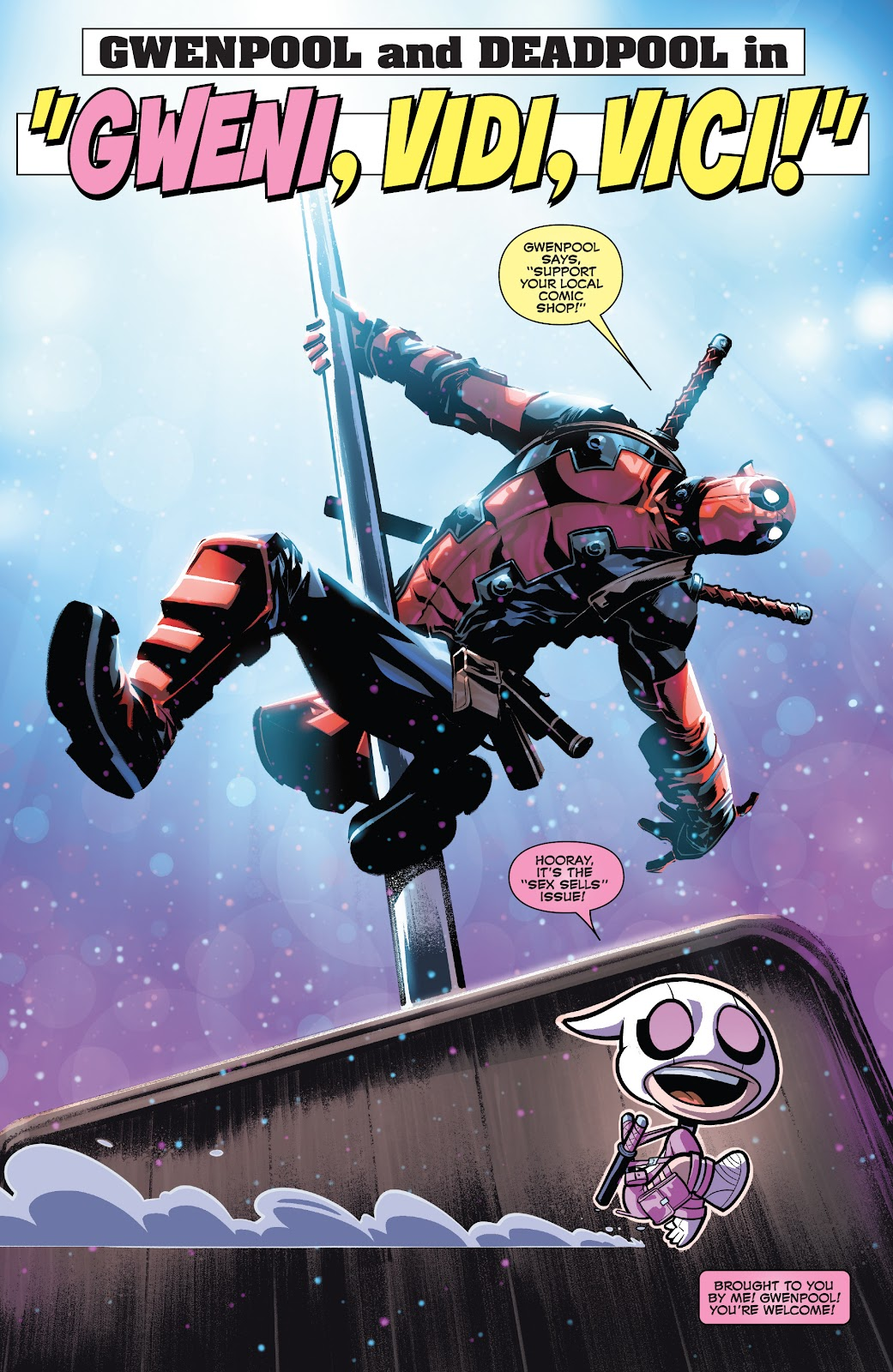 Gwenpool Strikes Back issue 2 - Page 5