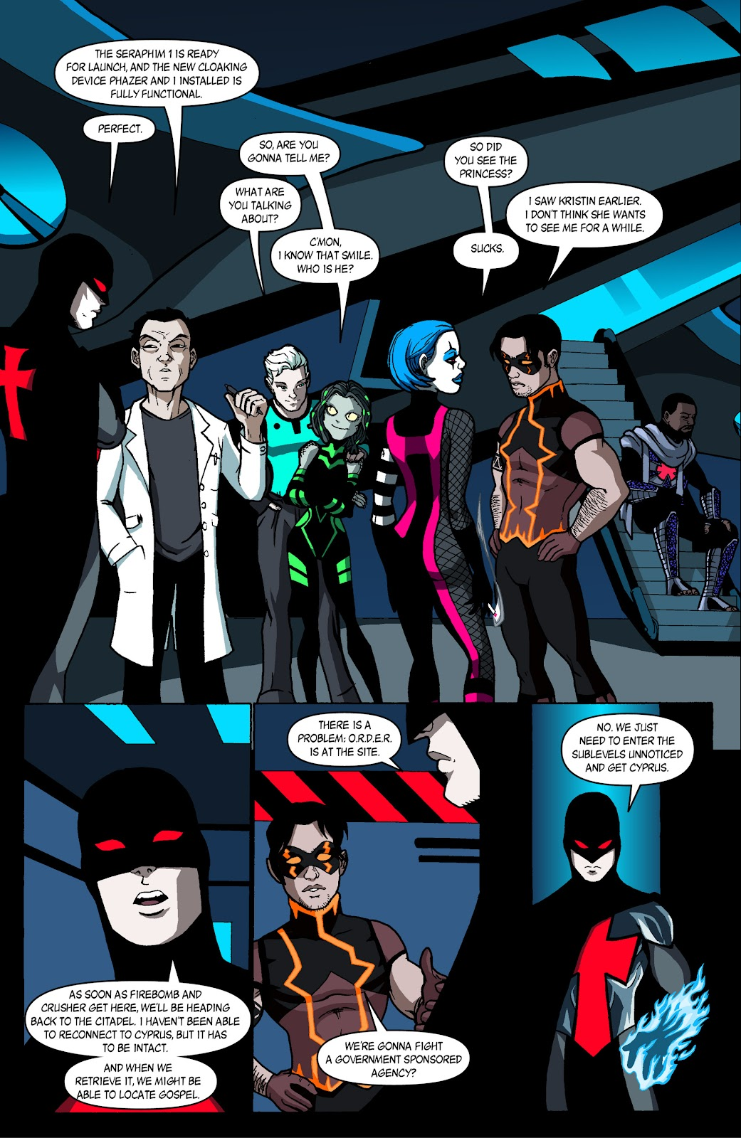 Sentinels issue 4 - Page 19