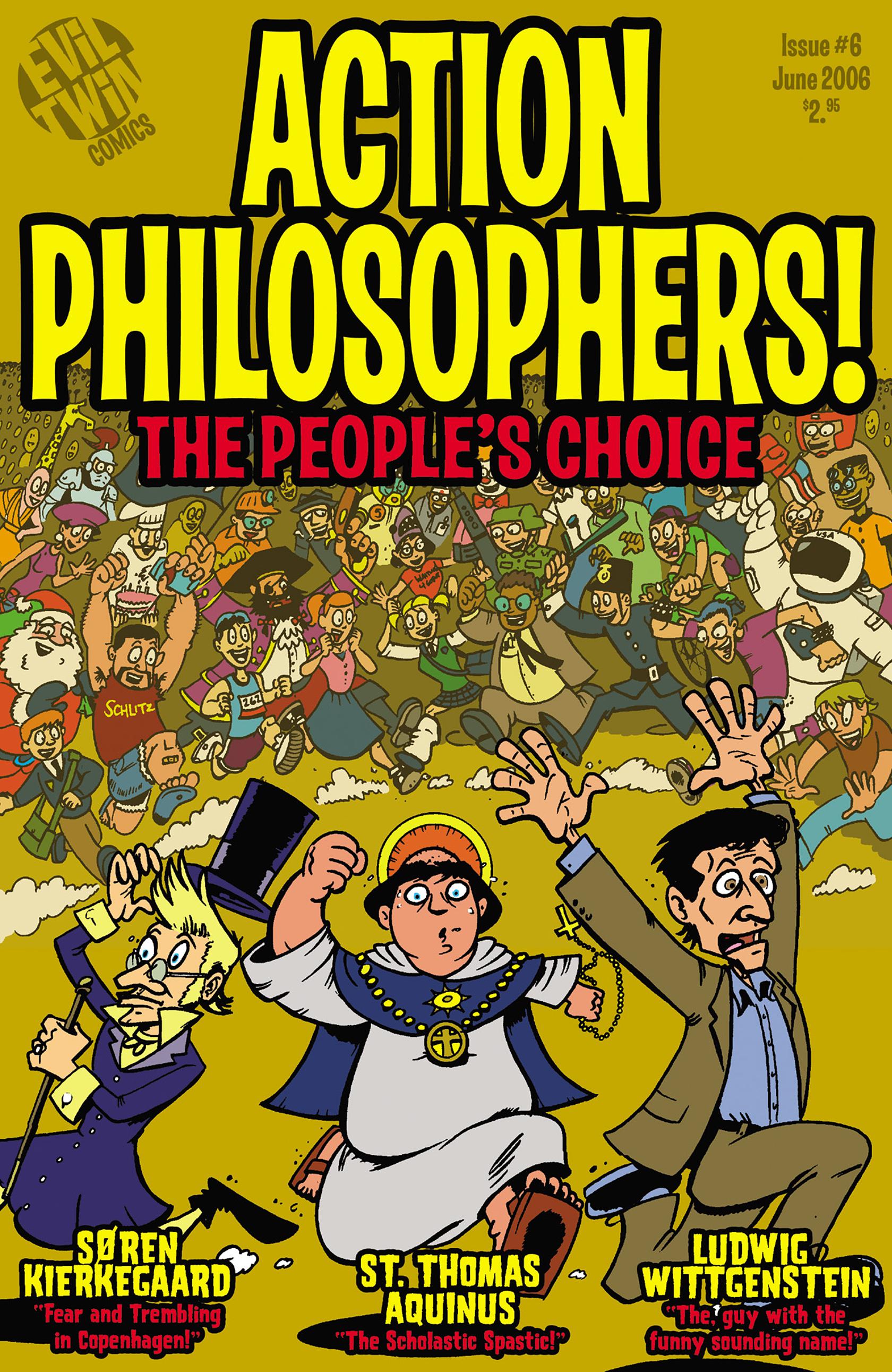 Read online Action Philosophers! comic -  Issue #Action Philosophers! TPB (Part 2) - 156
