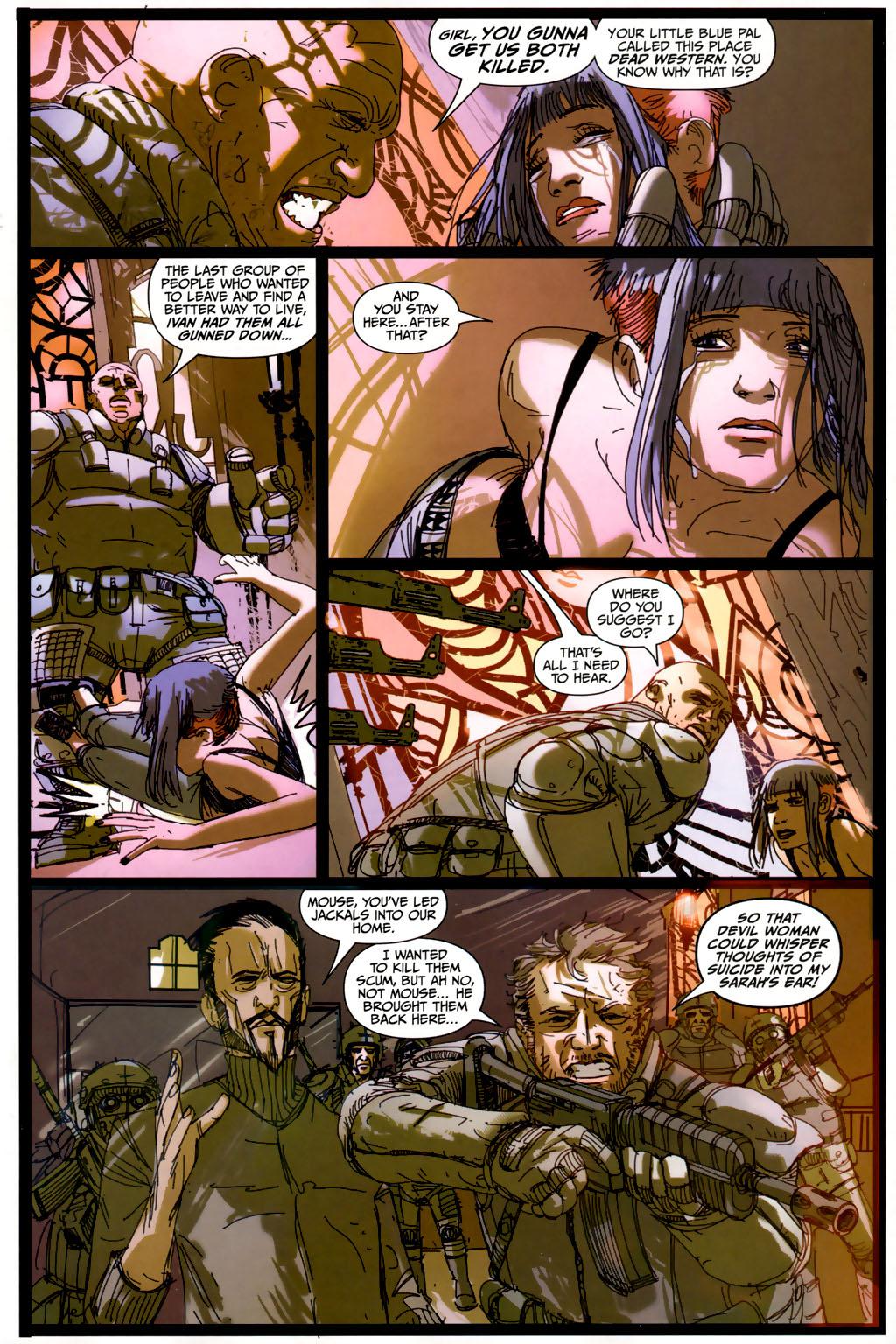 Read online Strange Girl comic -  Issue #6 - 17