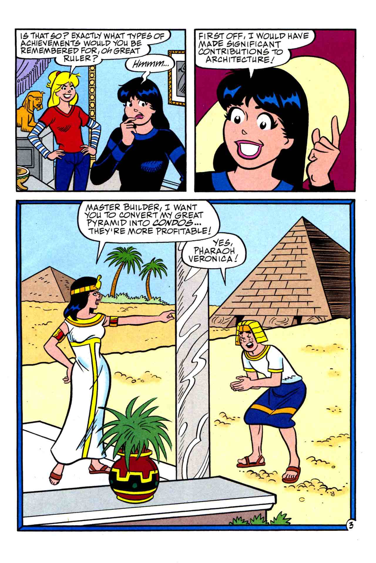 Read online Archie's Girls Betty and Veronica comic -  Issue #230 - 4
