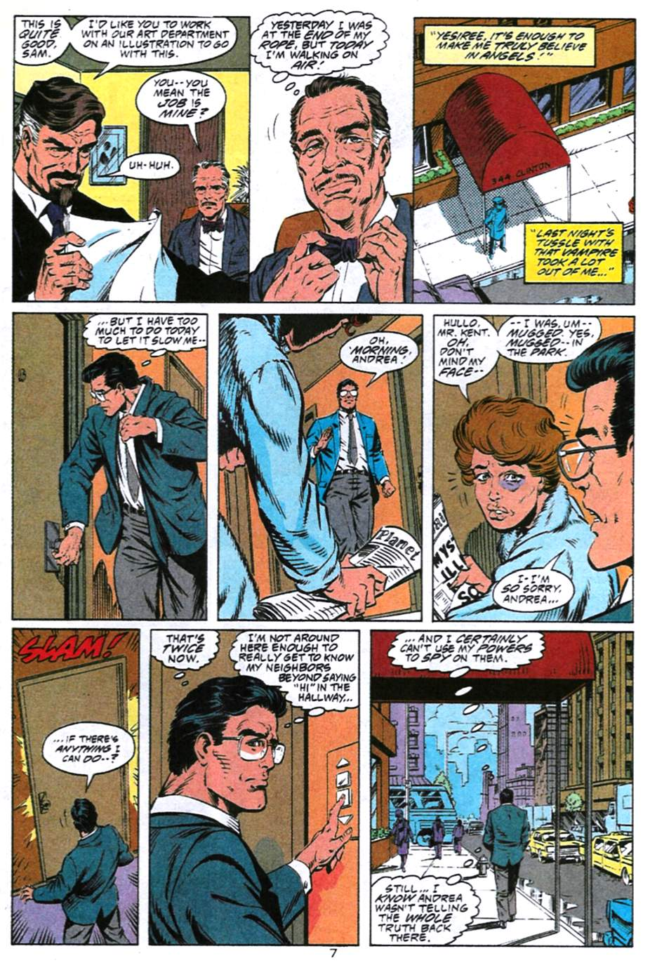 Read online Adventures of Superman (1987) comic -  Issue #493 - 8