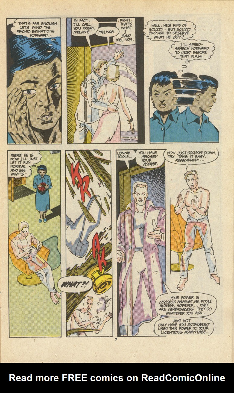 Read online Justice (1986) comic -  Issue #16 - 8