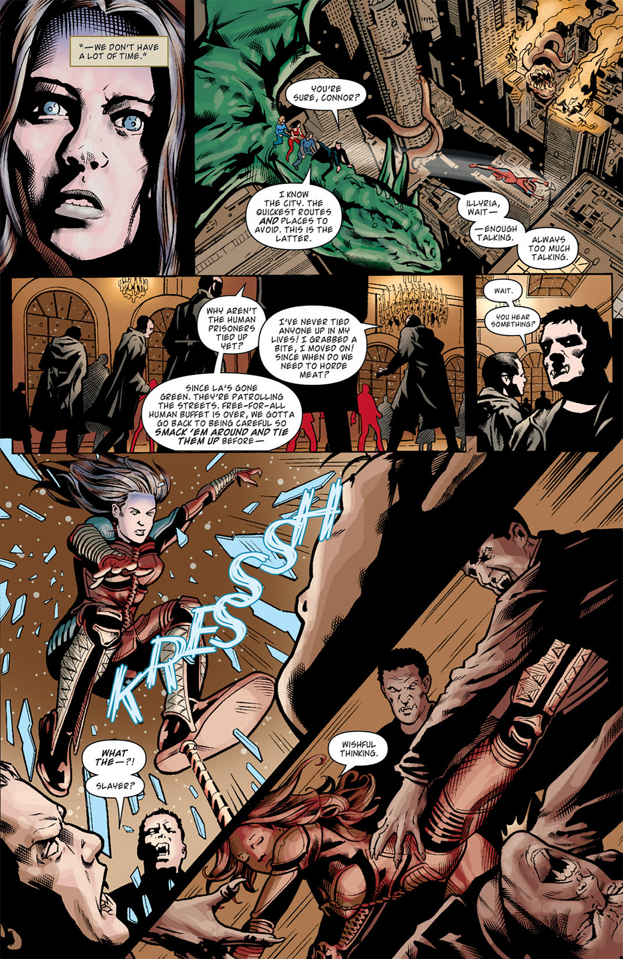 Read online Angel: After The Fall comic -  Issue #10 - 12