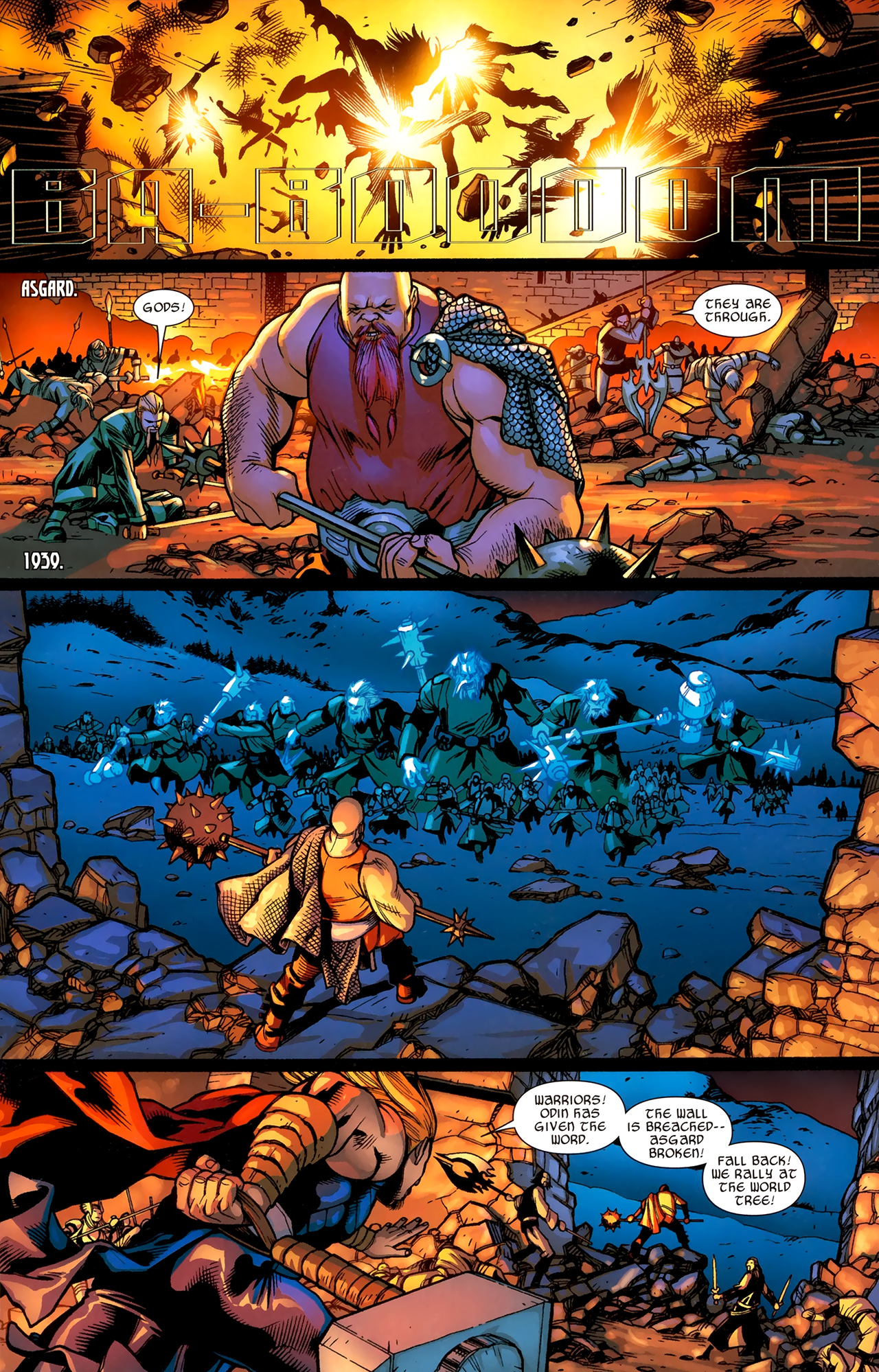 Read online Ultimate Thor comic -  Issue #3 - 10