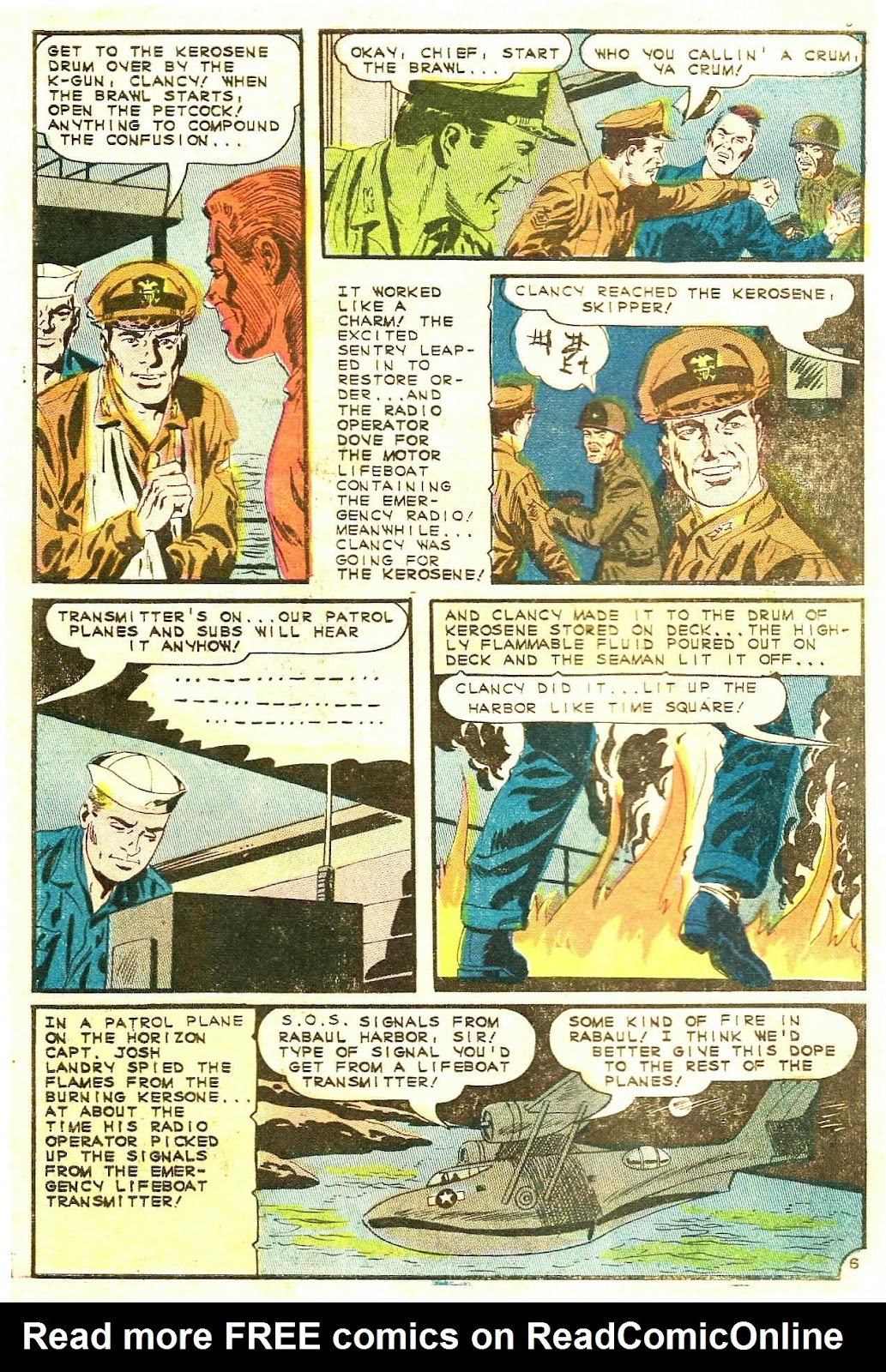 Read online Fightin' Navy comic -  Issue #123 - 10