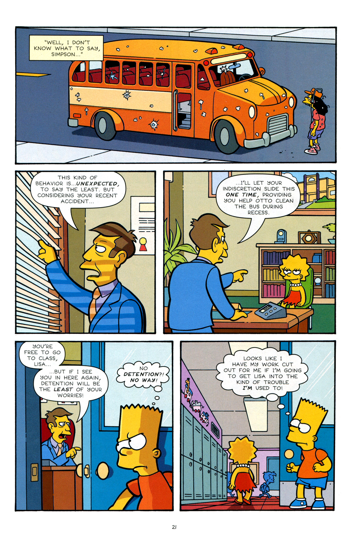 Read online Simpsons Comics Presents Bart Simpson comic -  Issue #66 - 23
