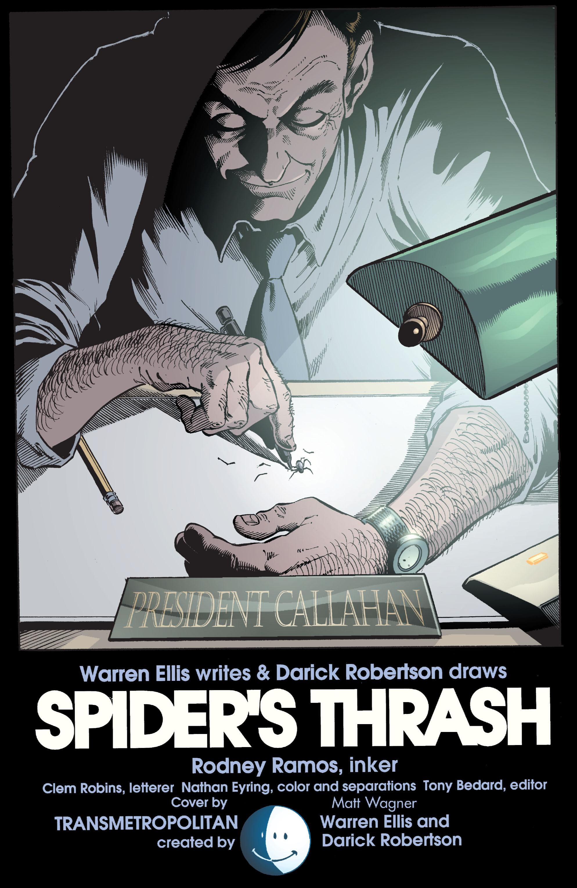 Read online Transmetropolitan comic -  Issue #42 - 23