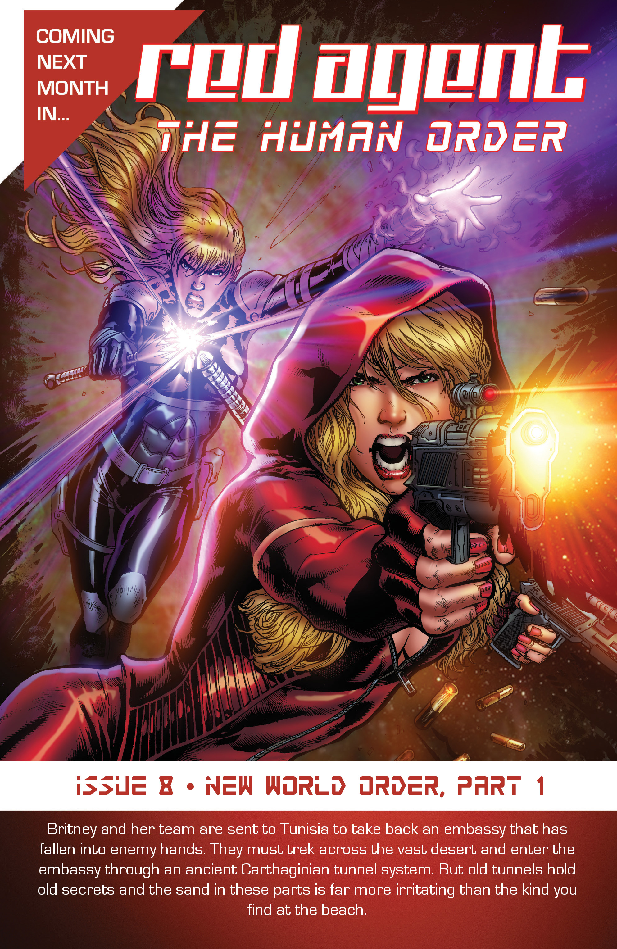 Read online Grimm Fairy Tales presents Red Agent: The Human Order comic -  Issue #7 - 25