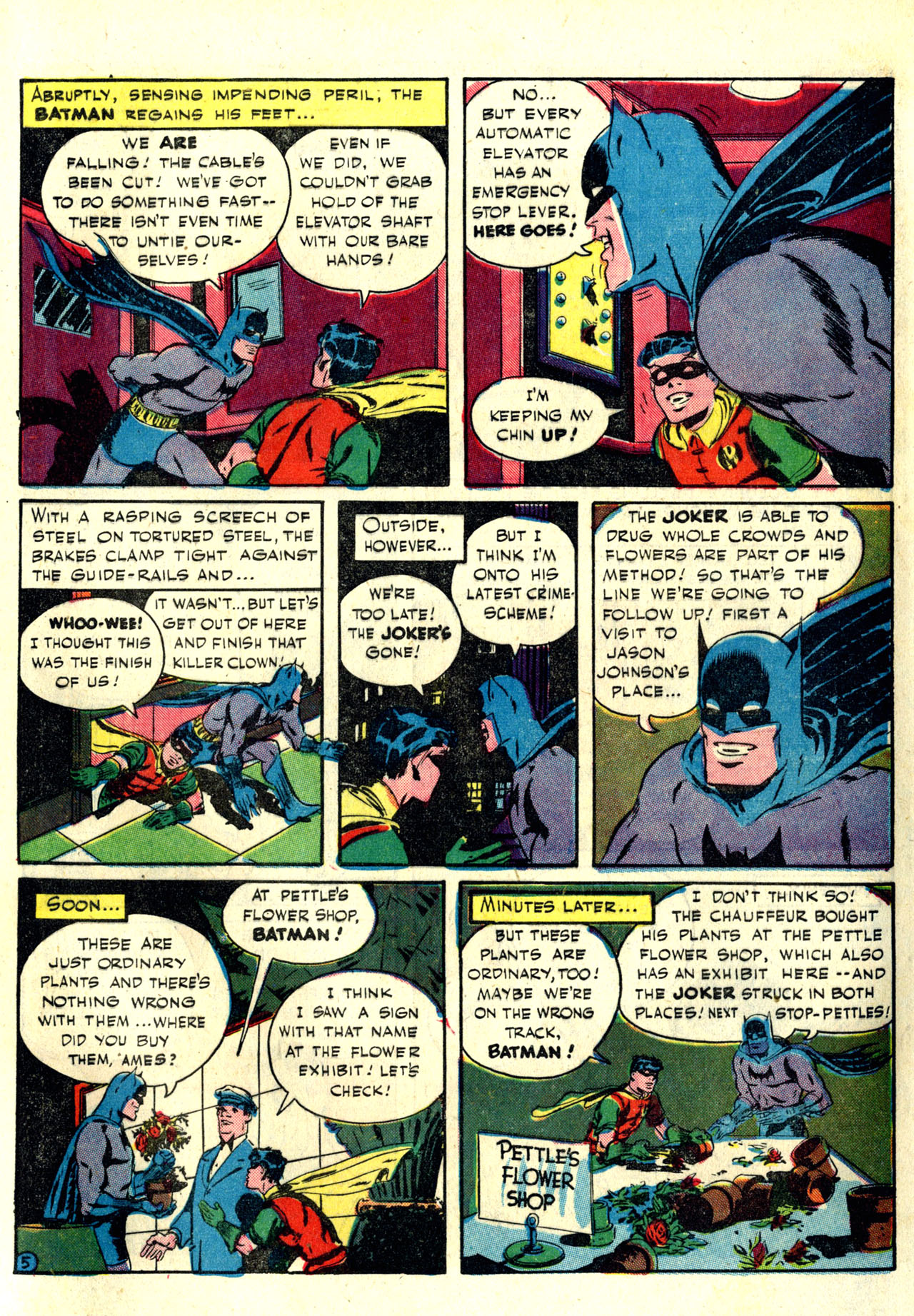 Read online Detective Comics (1937) comic -  Issue #76 - 7