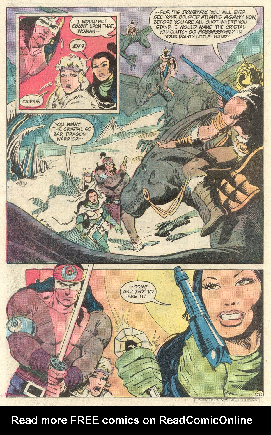 Read online Arion, Lord of Atlantis comic -  Issue #2 - 20