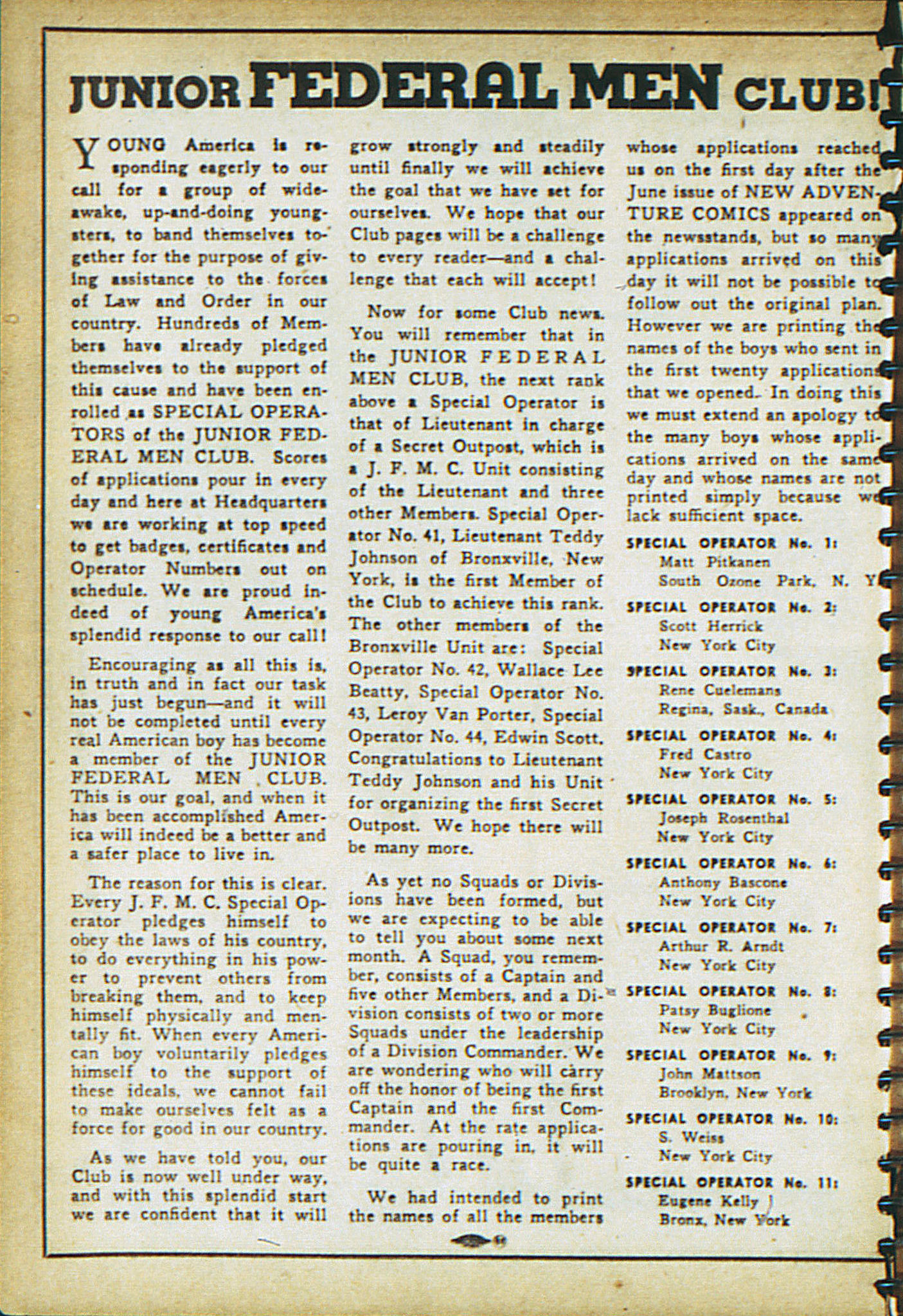 Read online Adventure Comics (1938) comic -  Issue #18 - 21