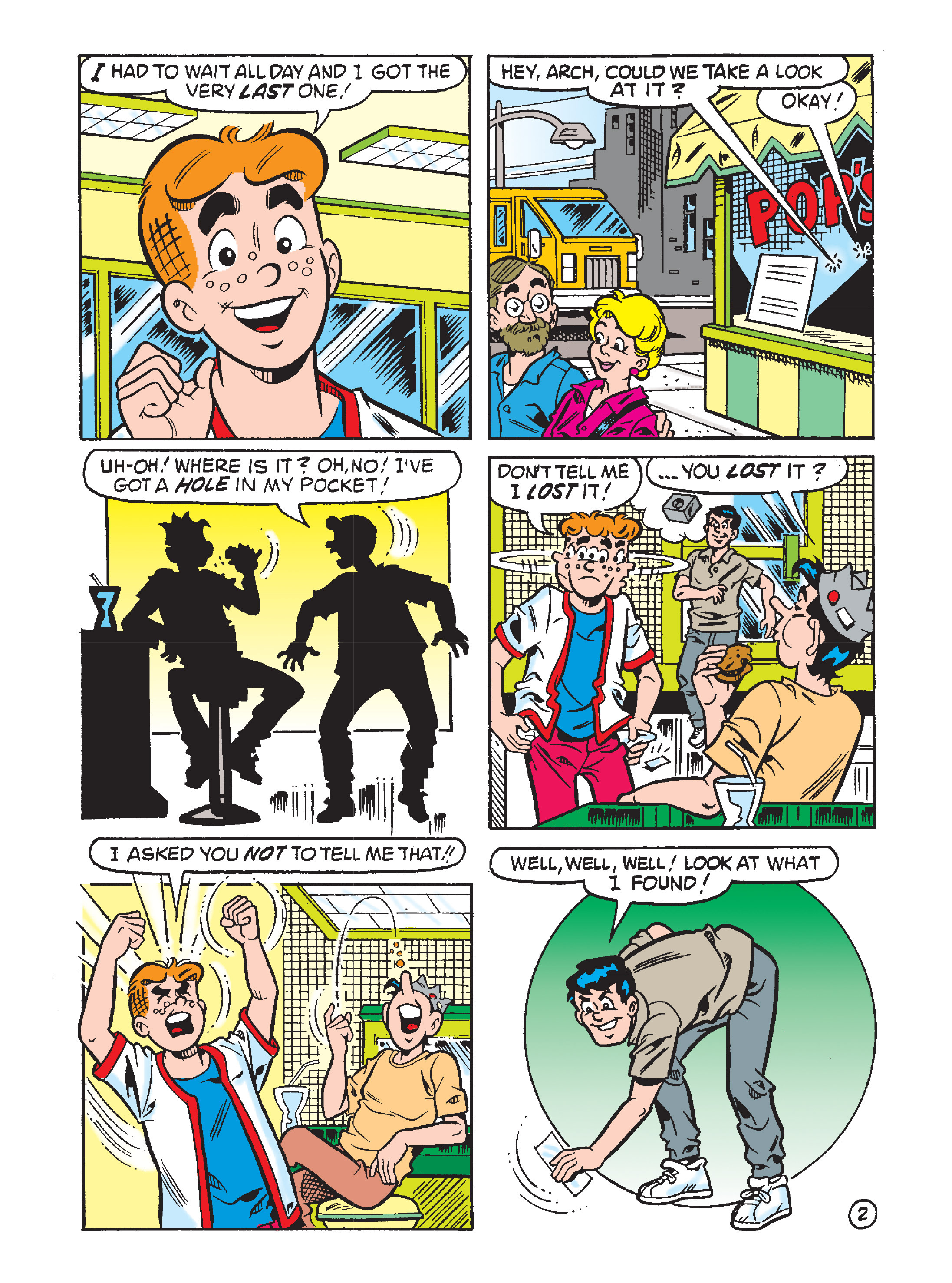 Read online Archie's Funhouse Double Digest comic -  Issue #8 - 85