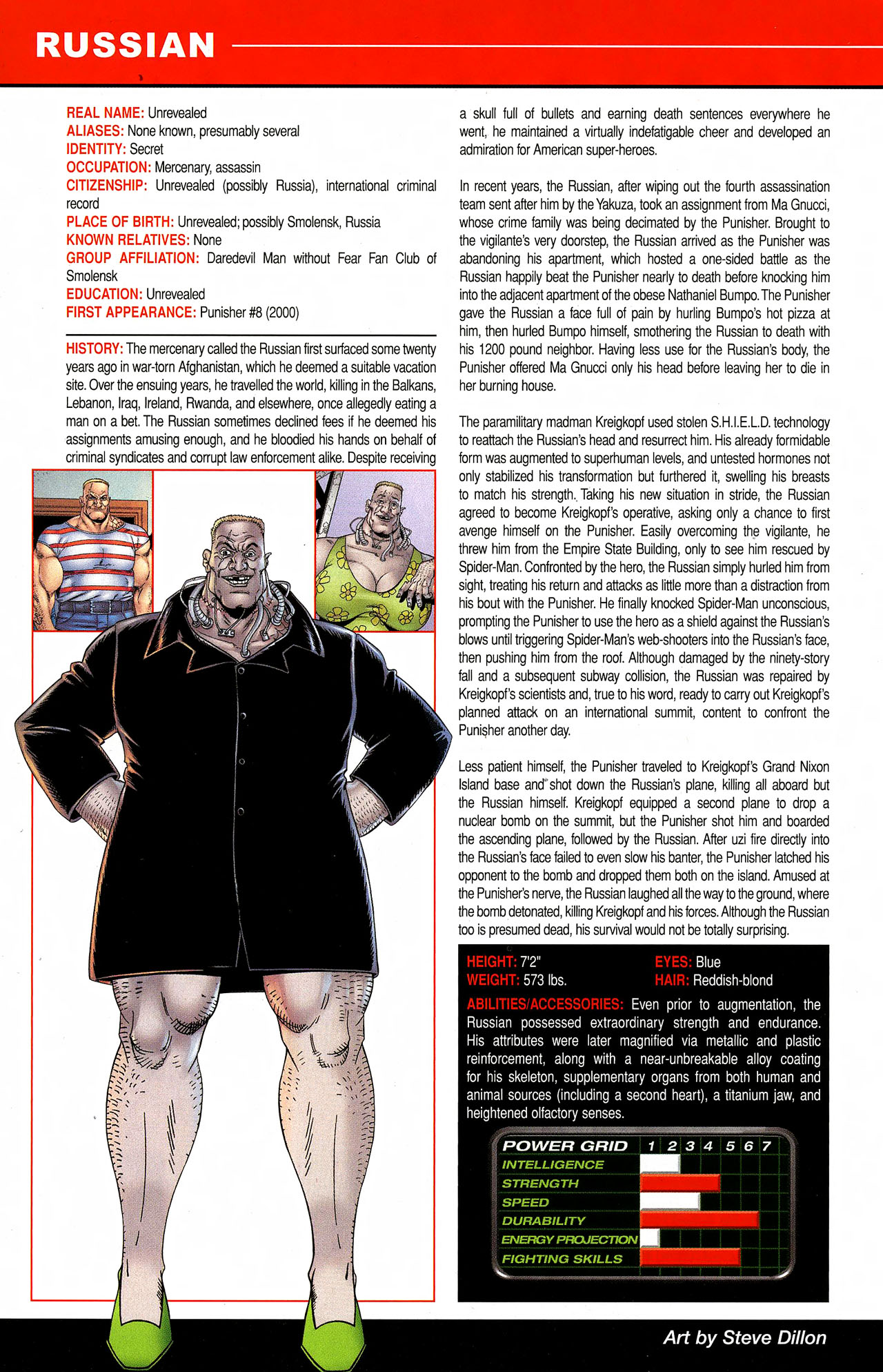 Read online All-New Official Handbook of the Marvel Universe A to Z comic -  Issue #9 - 38