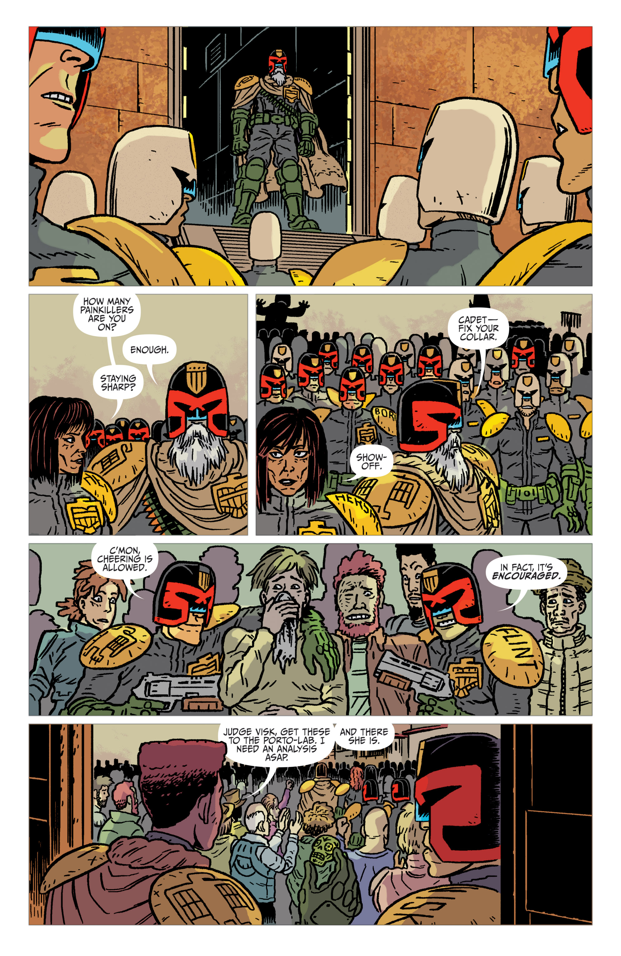 Read online Judge Dredd: The Blessed Earth comic -  Issue #2 - 16