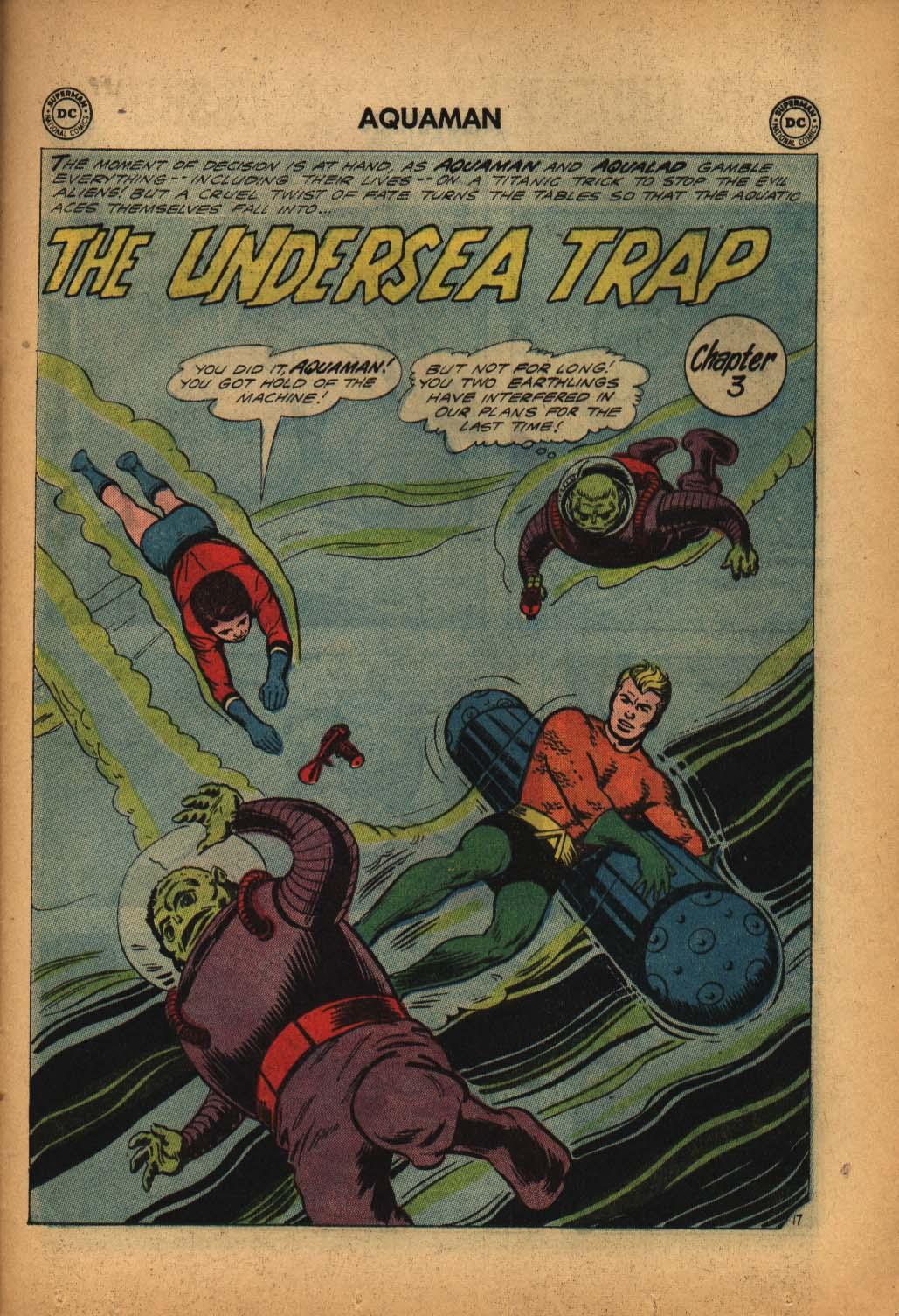 Read online Aquaman (1962) comic -  Issue #4 - 25