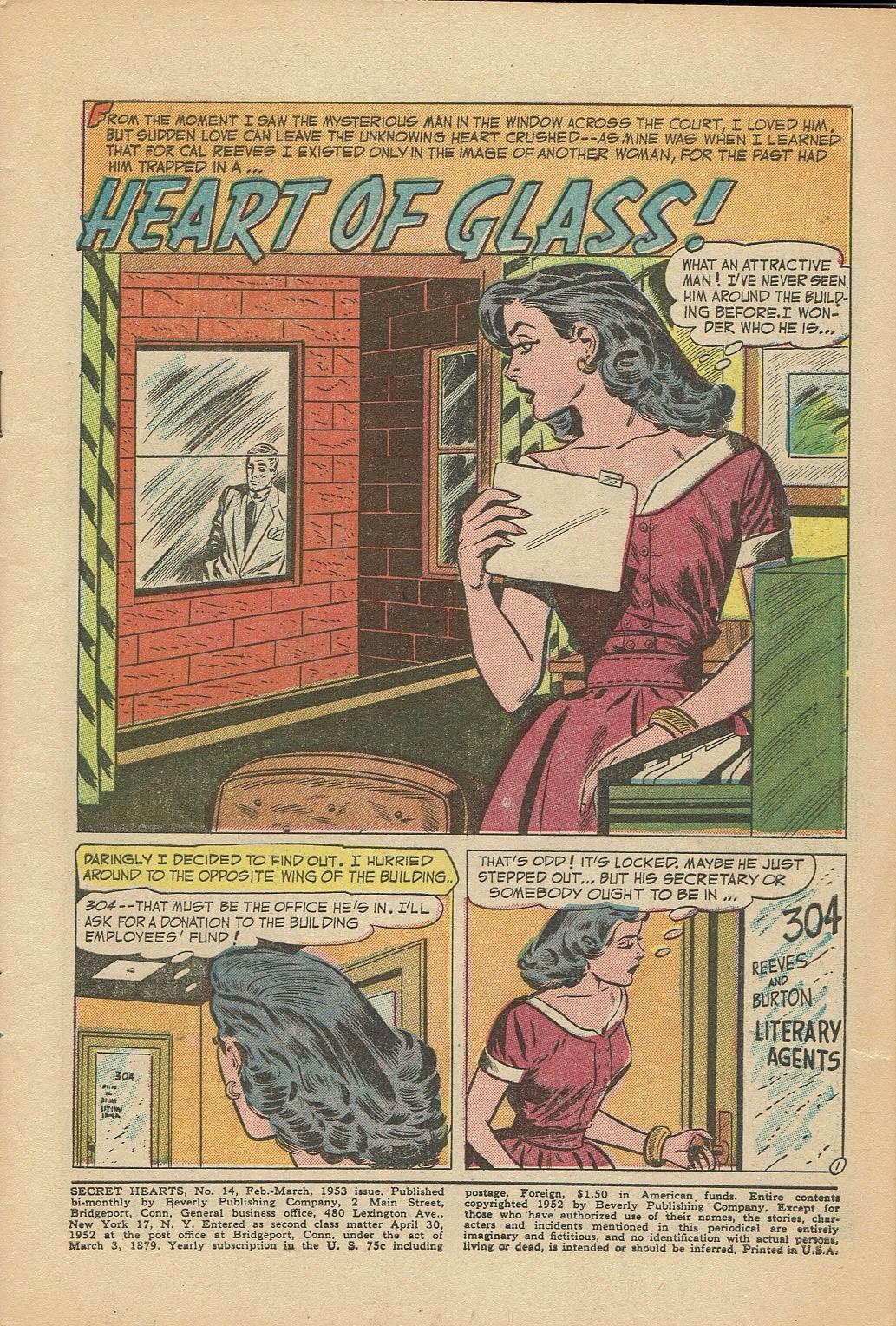 Read online Secret Hearts comic -  Issue #14 - 3