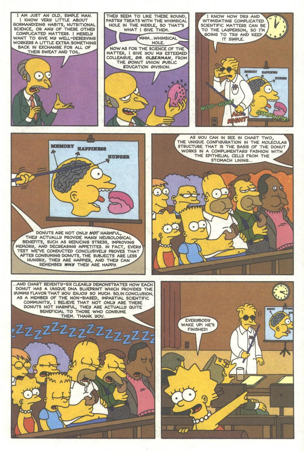 Read online Simpsons Comics comic -  Issue #38 - 16