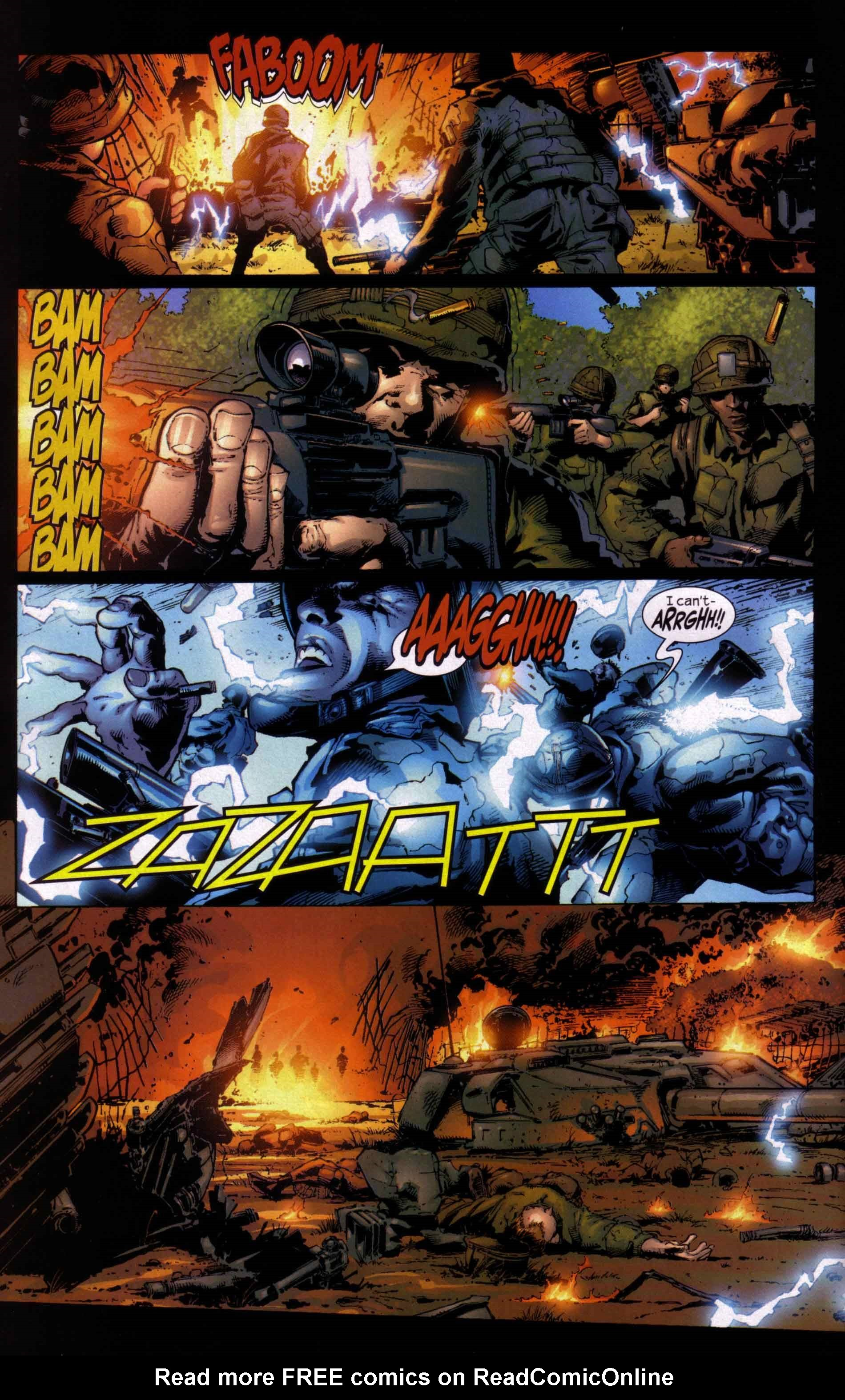 Read online Ultimate Six comic -  Issue #5 - 20
