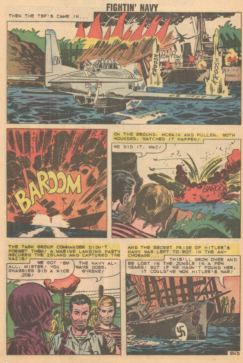 Read online Fightin' Navy comic -  Issue #93 - 24