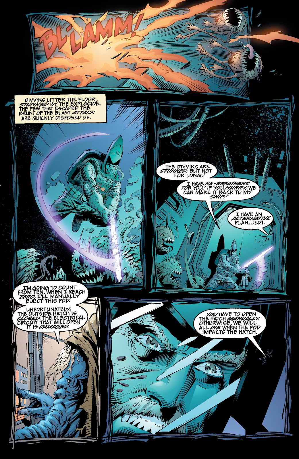 Read online Star Wars Legends: Rise of the Sith - Epic Collection comic -  Issue # TPB 2 (Part 1) - 99